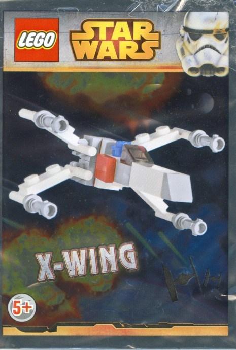 Swcomic1 1 Mini X Wing Starfighter Brickset Lego Set Guide And