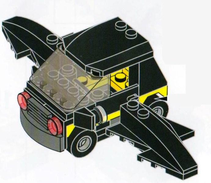lego batmobile instructions 30161