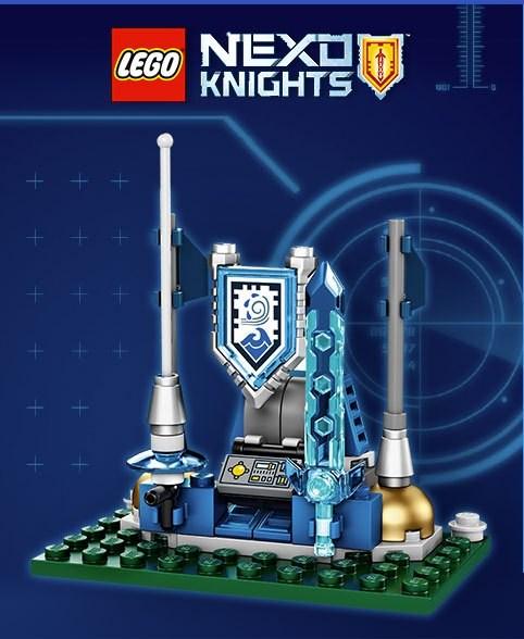 Lego TRUNEXO Nexo Knights Shield Dock  image