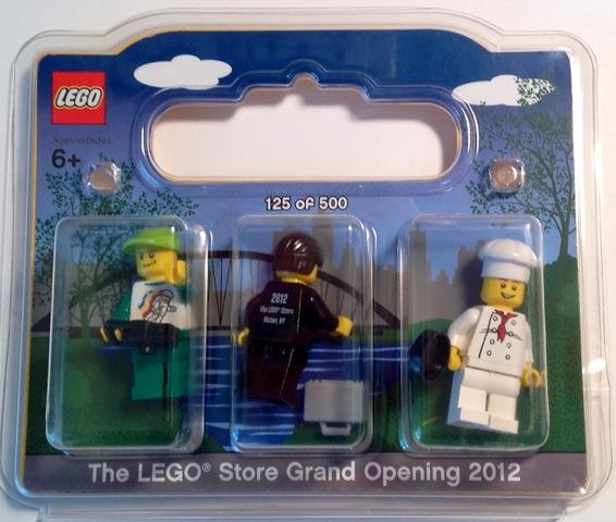 2012 | Promotional | LEGO brand store opening set | Brickset: LEGO ...