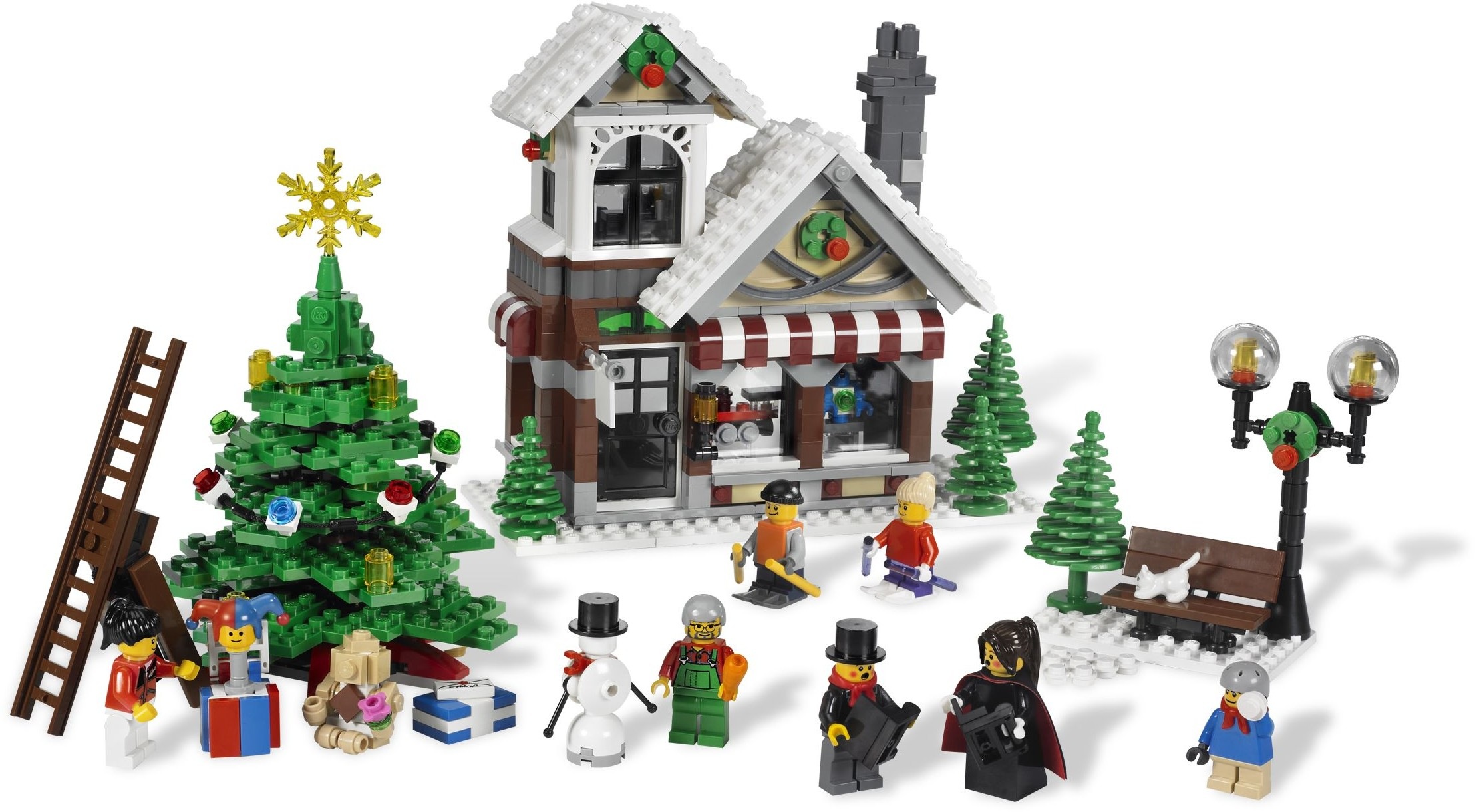 Advanced Models | Winter Village | Brickset: LEGO set guide and database