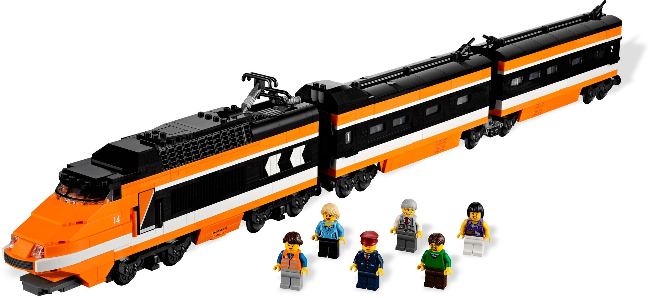 Advanced Models | Trains | Brickset: LEGO set guide and database