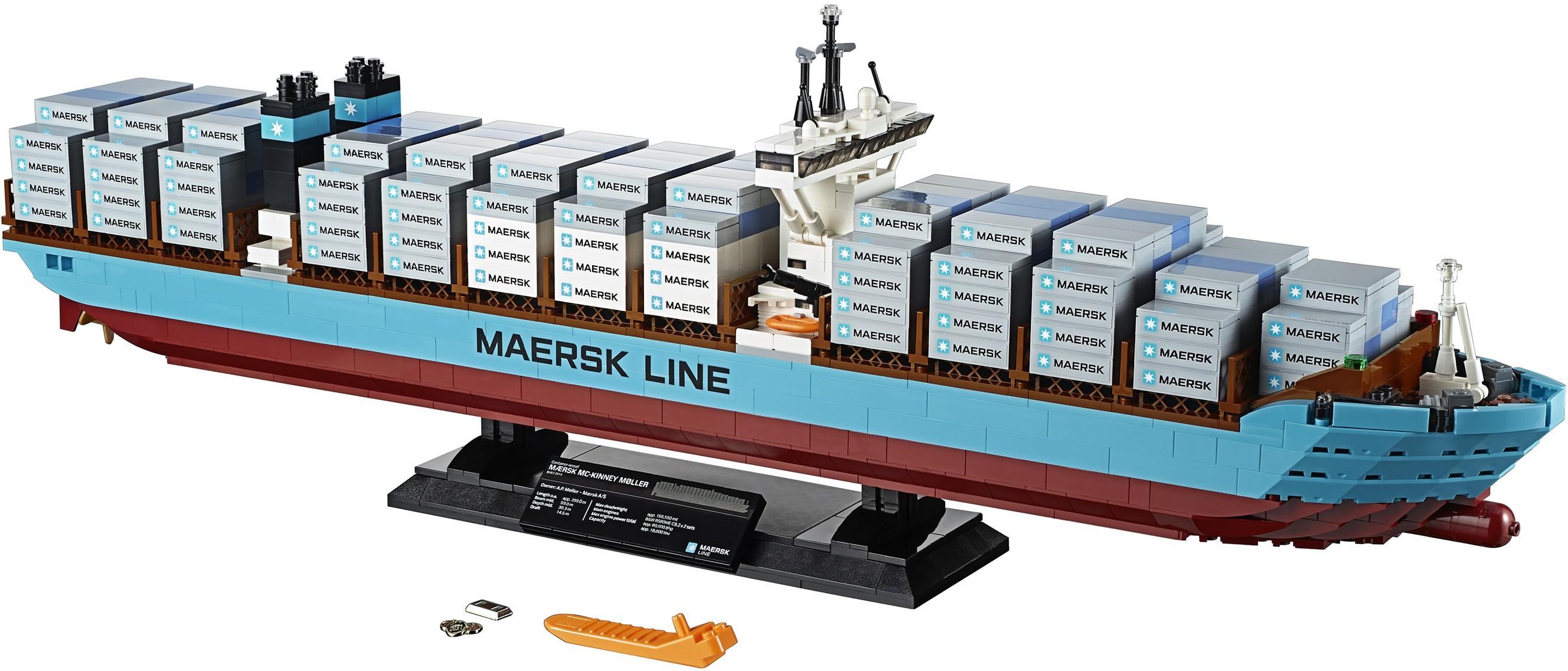 Expert Maersk Line Triple-E Lego Creator New In Box
