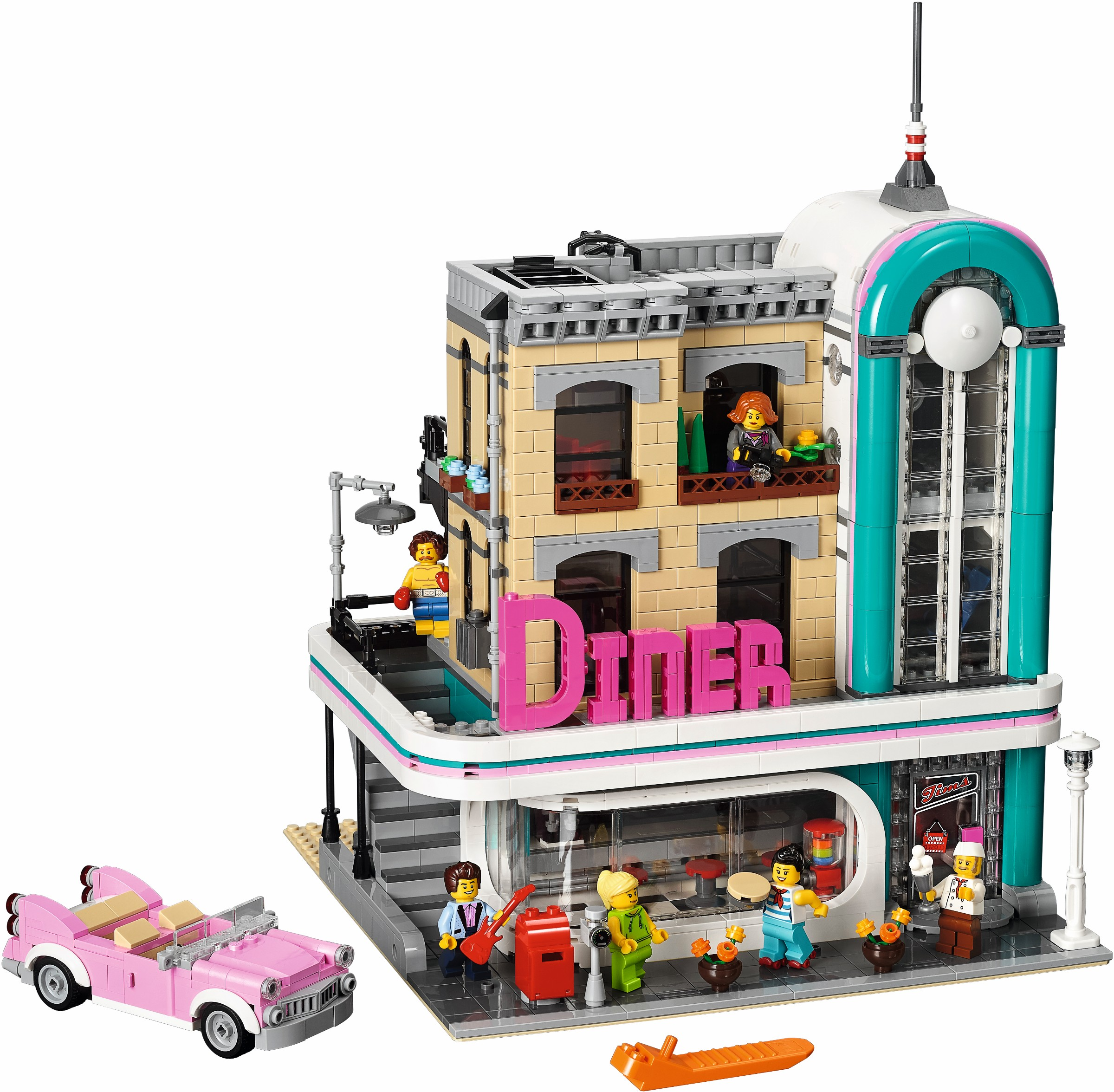 2018 brickset lego set guide and database downtown diner negle Gallery