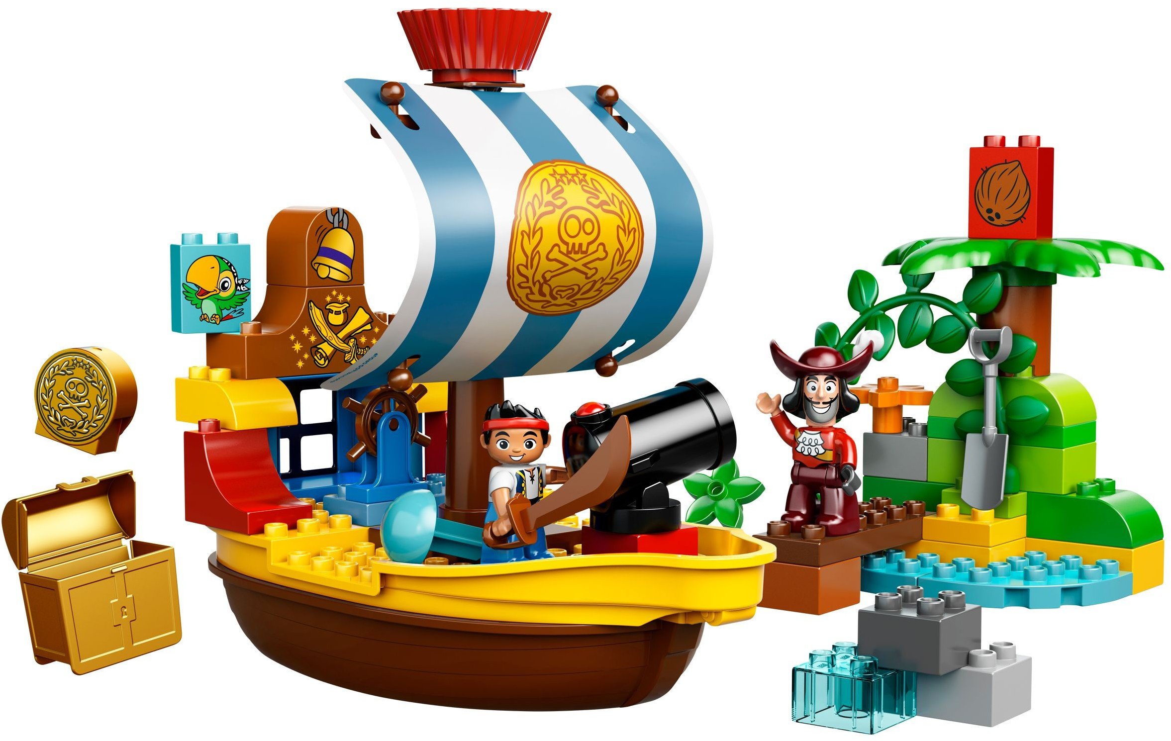 duplo jake and the never land pirates brickset lego set guide