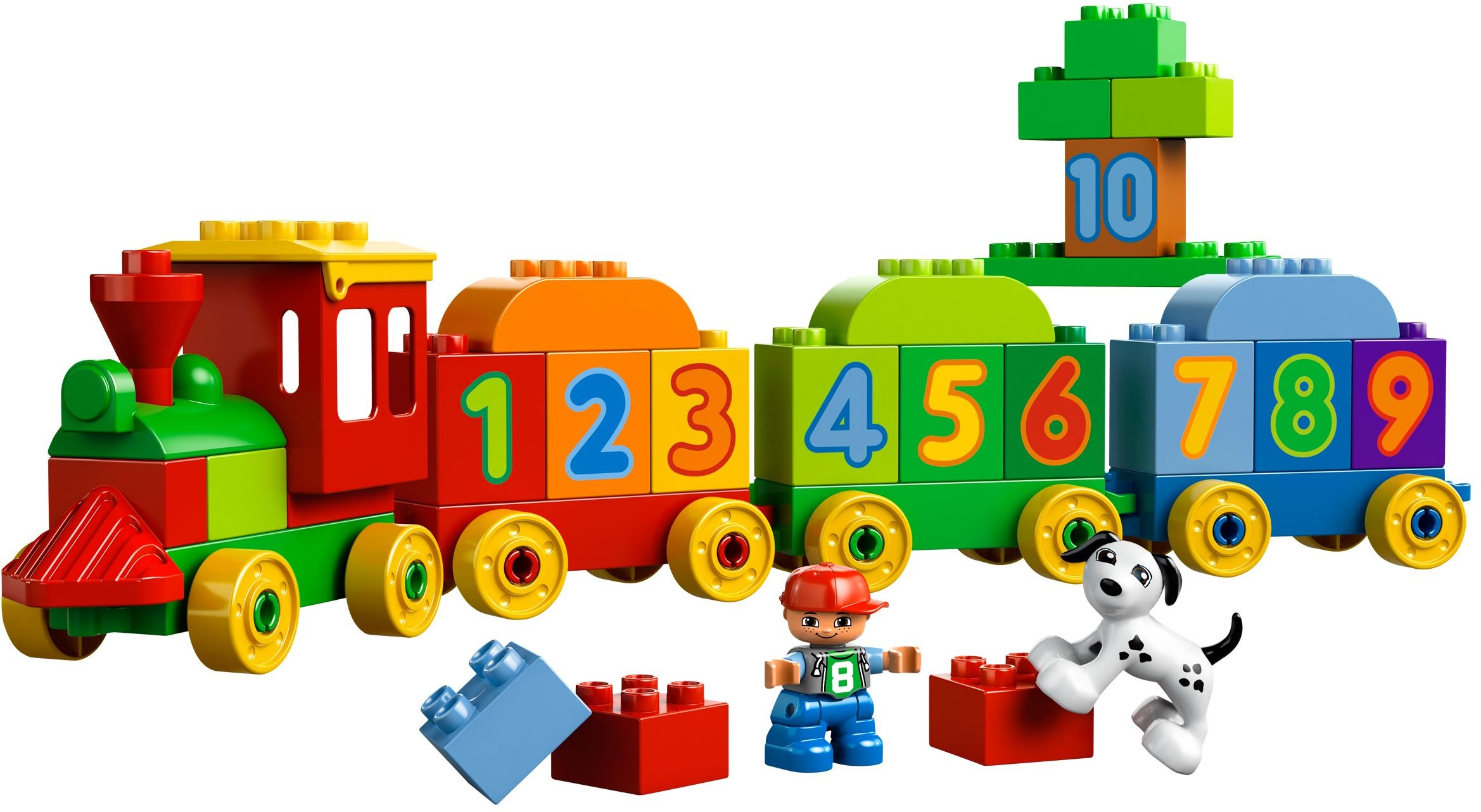 Duplo Tagged Steam Locomotive Brickset Lego Set Guide And