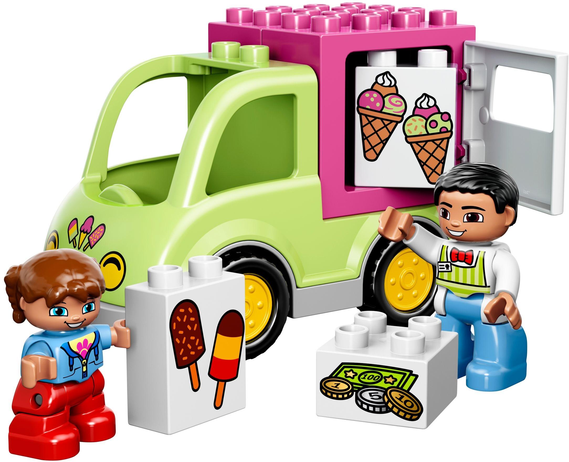 2015 Duplo Brickset Lego Set Guide And Database 10593 Fire Station Ice Cream Truck