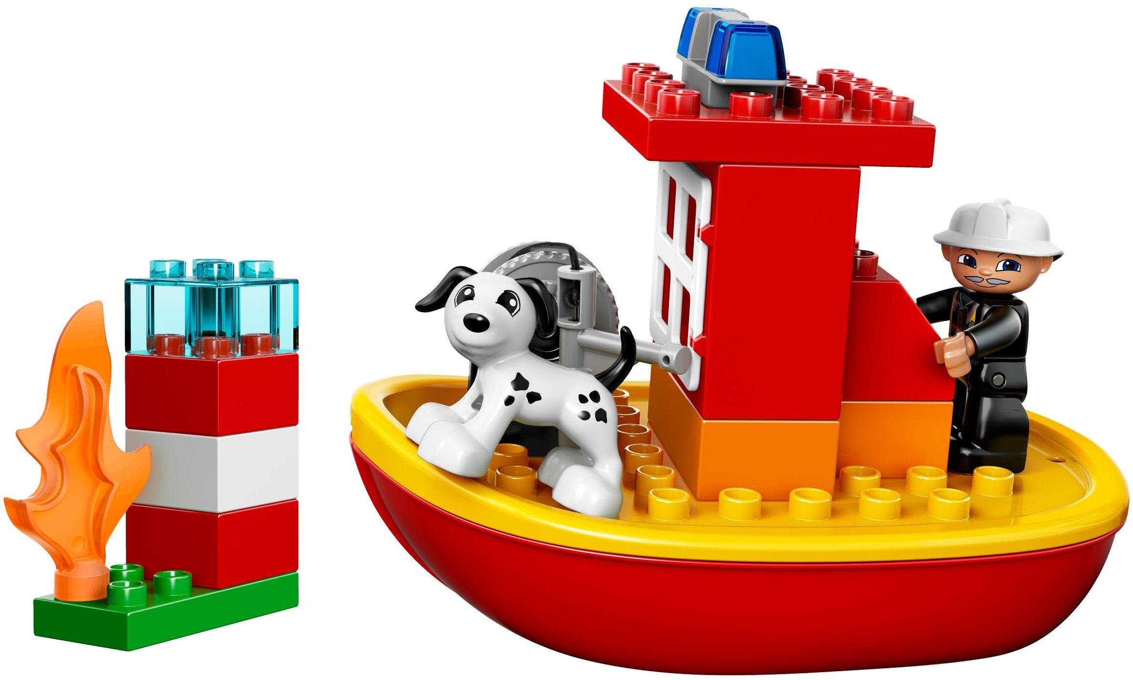 Duplo Fire Brickset Lego Set Guide And Database 10593 Station Boat