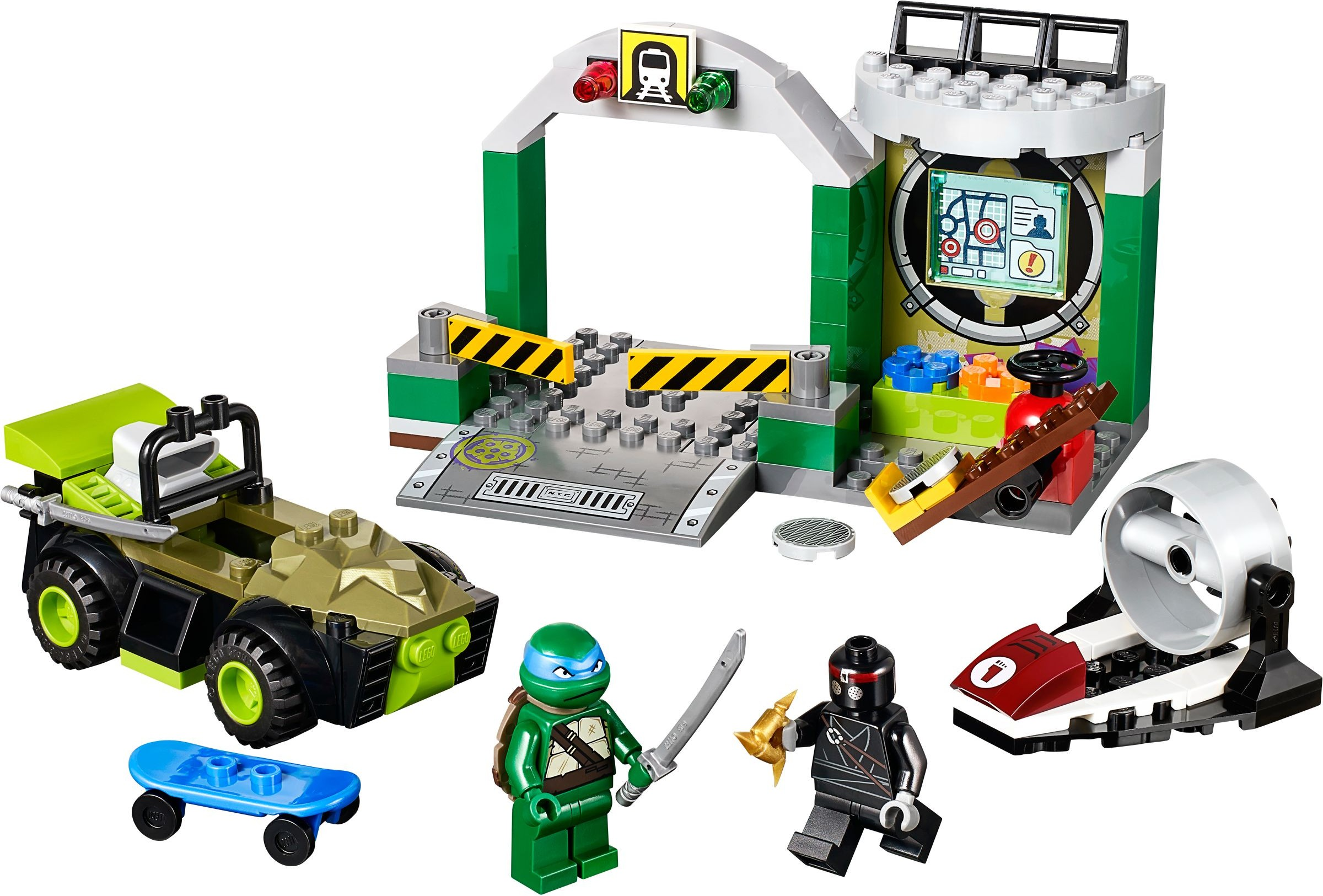 Juniors Brickset Lego Set Guide And Database 10720 Police Helicopter Chase Turtle Lair