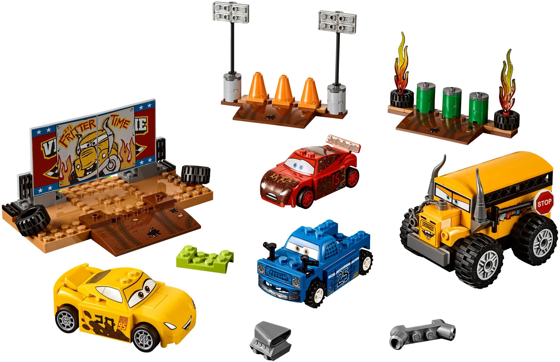 lego city monster truck instructions