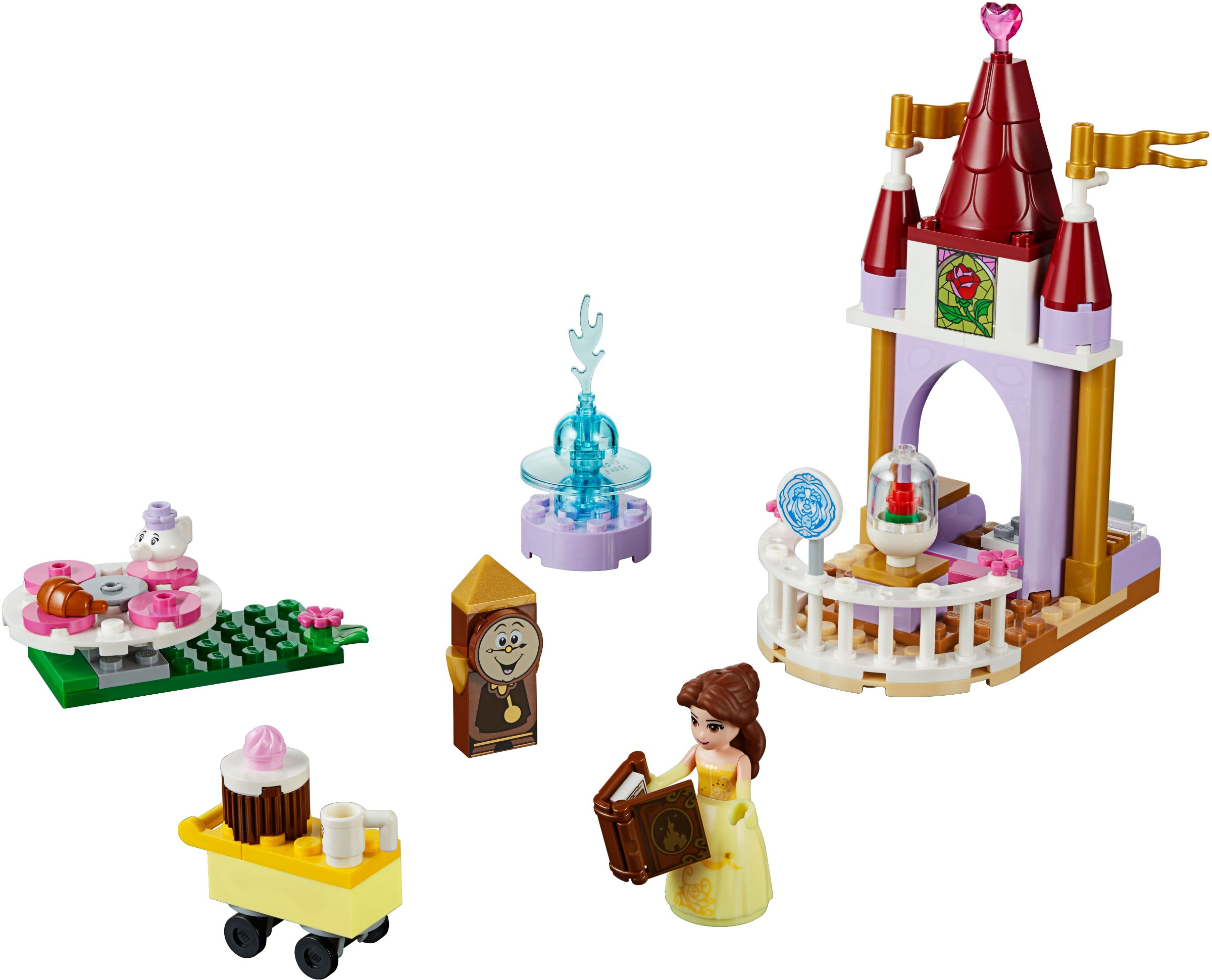 beauty and the beast lego set instructions