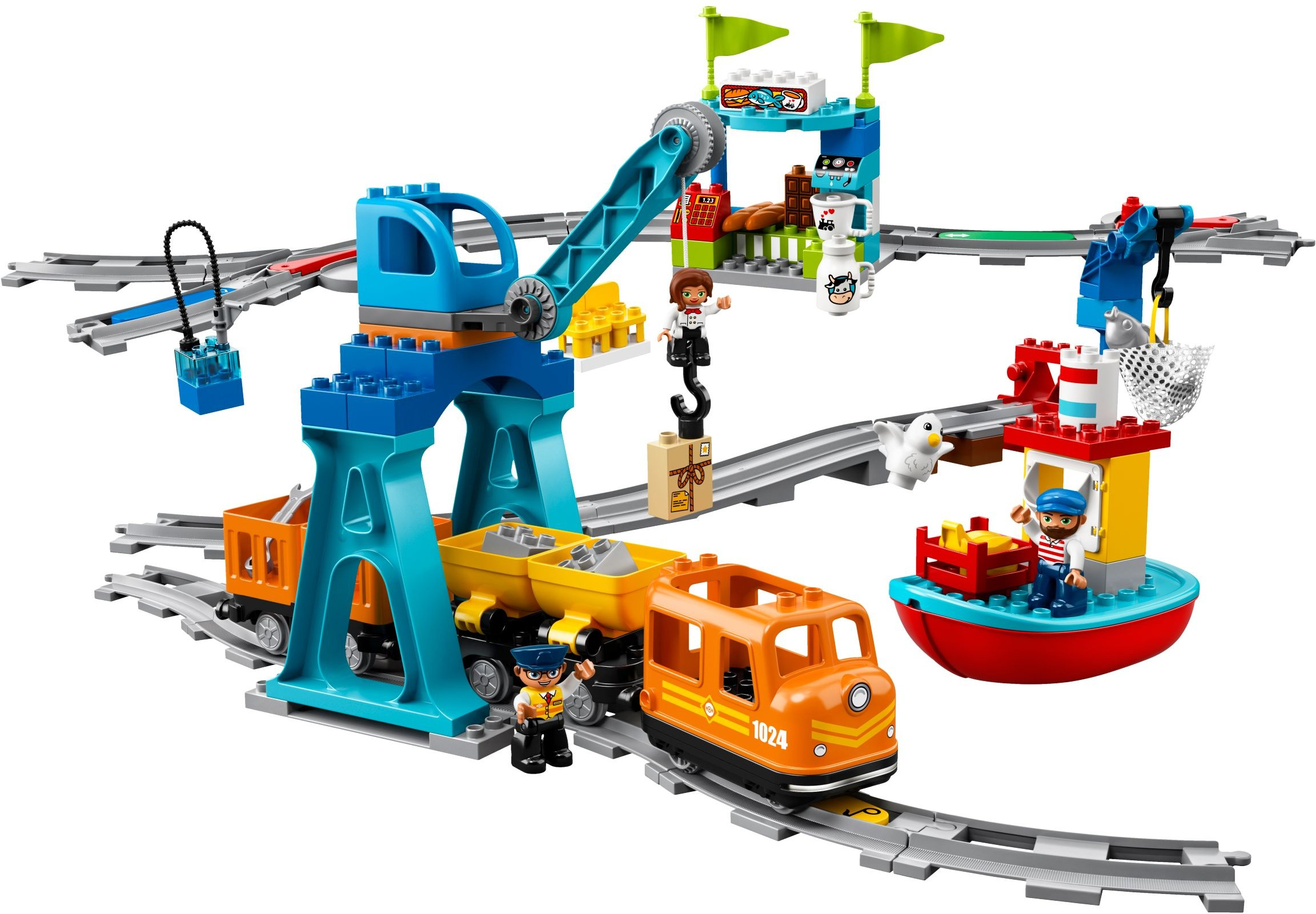 Lego Duplo Train Interesting Starter Set The 5547 James Celebrates Sodor Day Cargo With