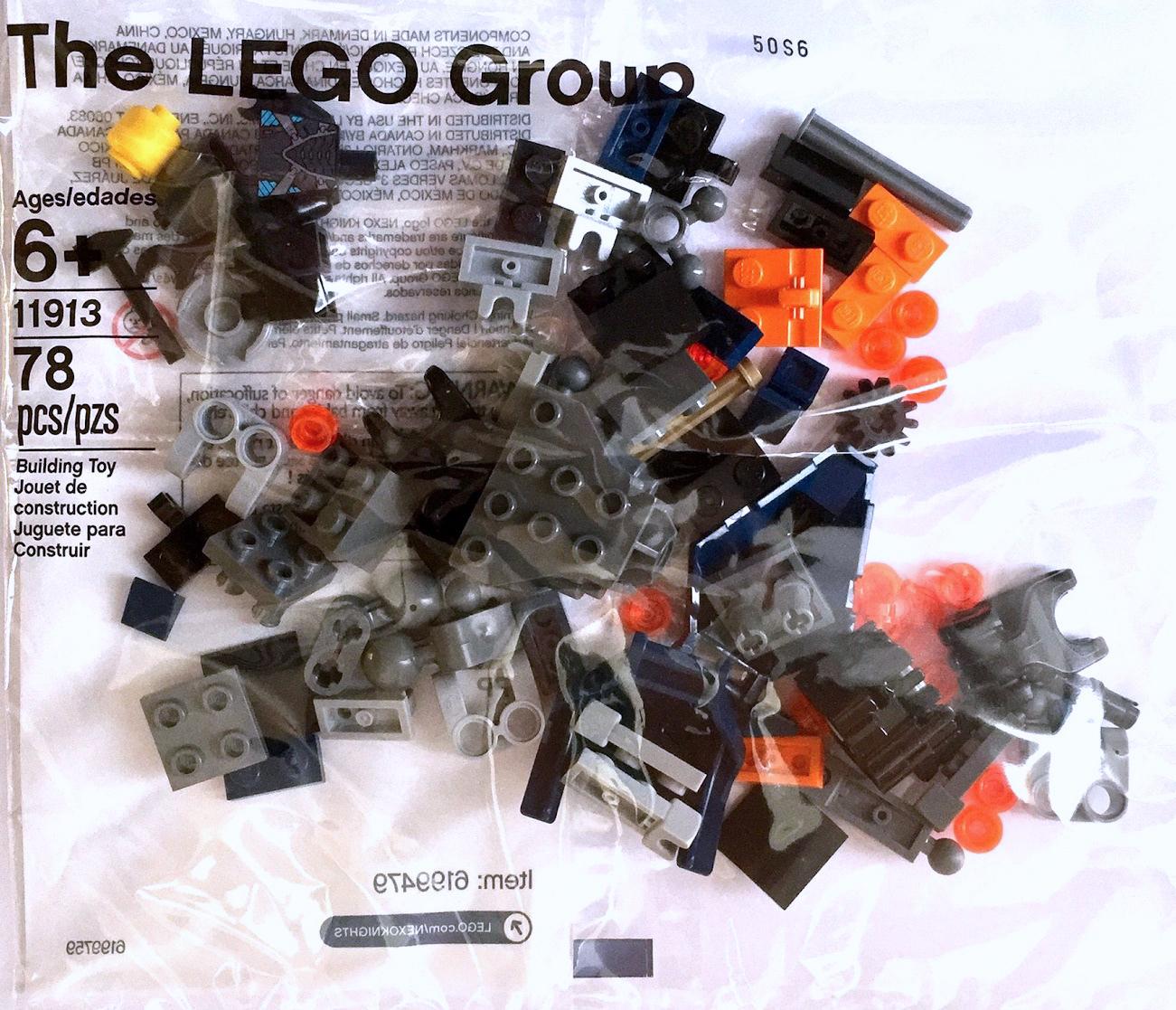 LEGO NEXO KNIGHTS Aaron Fox/'s Aero-Striker V2 STICKER SHEET for Set 70320  NEW
