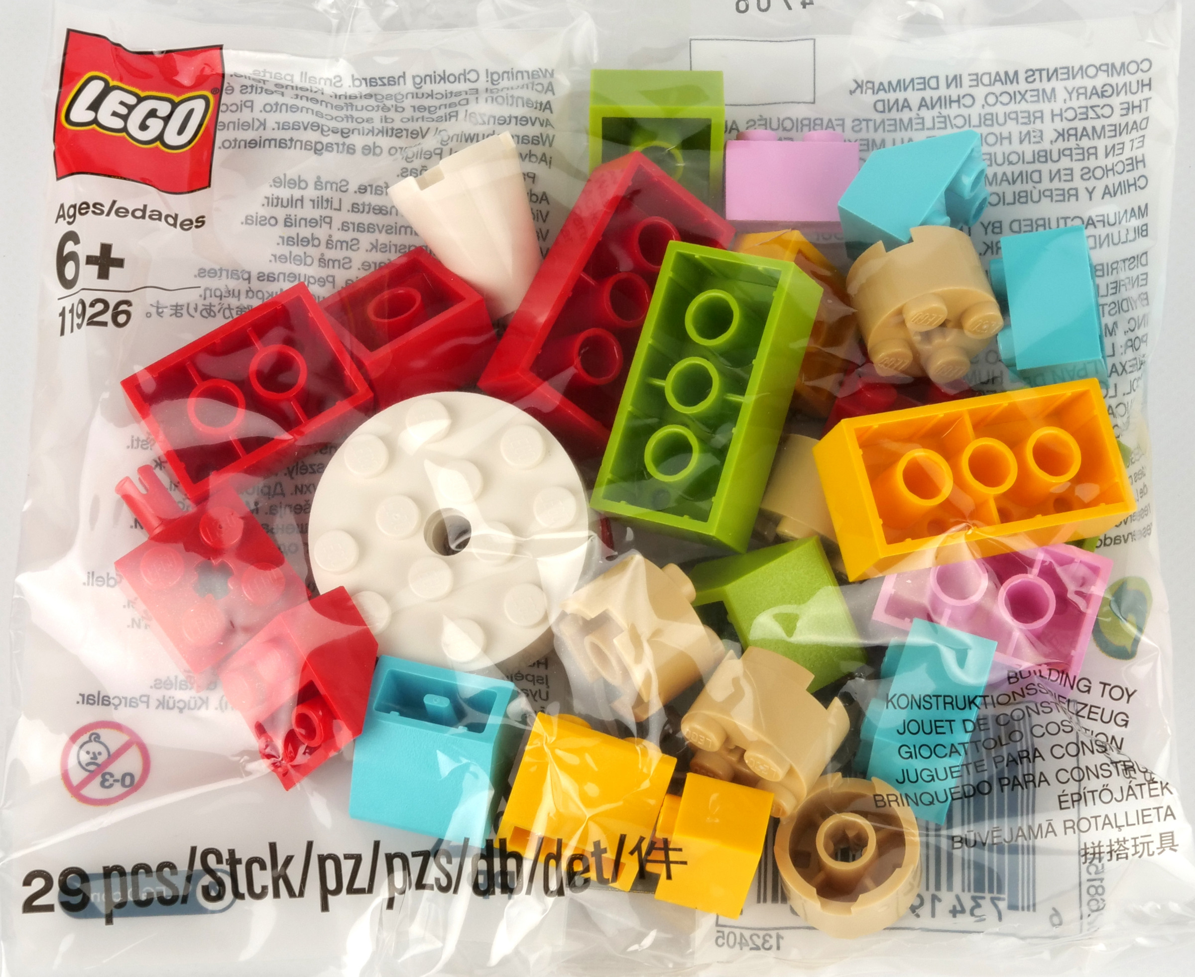 Lego Minifigure Red Ninjago Headgear Ninja Wrap HP#24