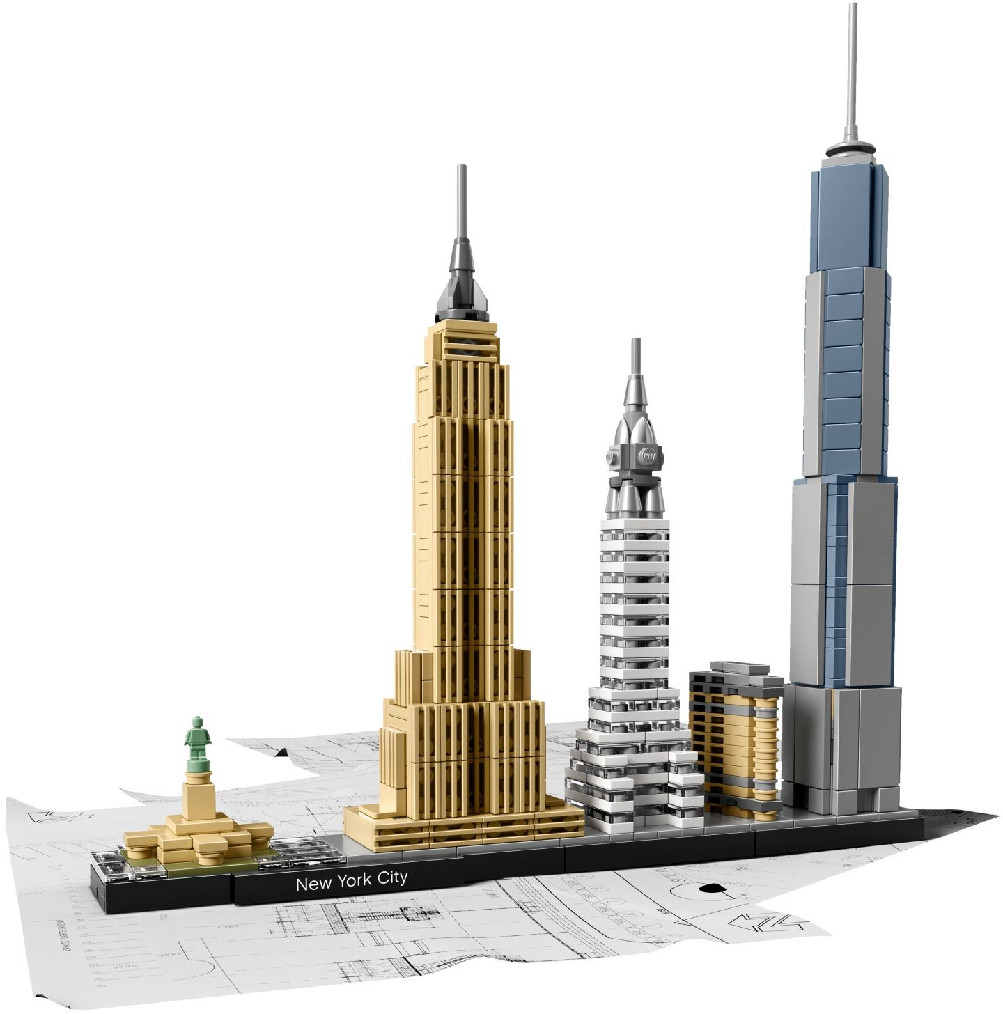 lego architecture flatiron building instructions