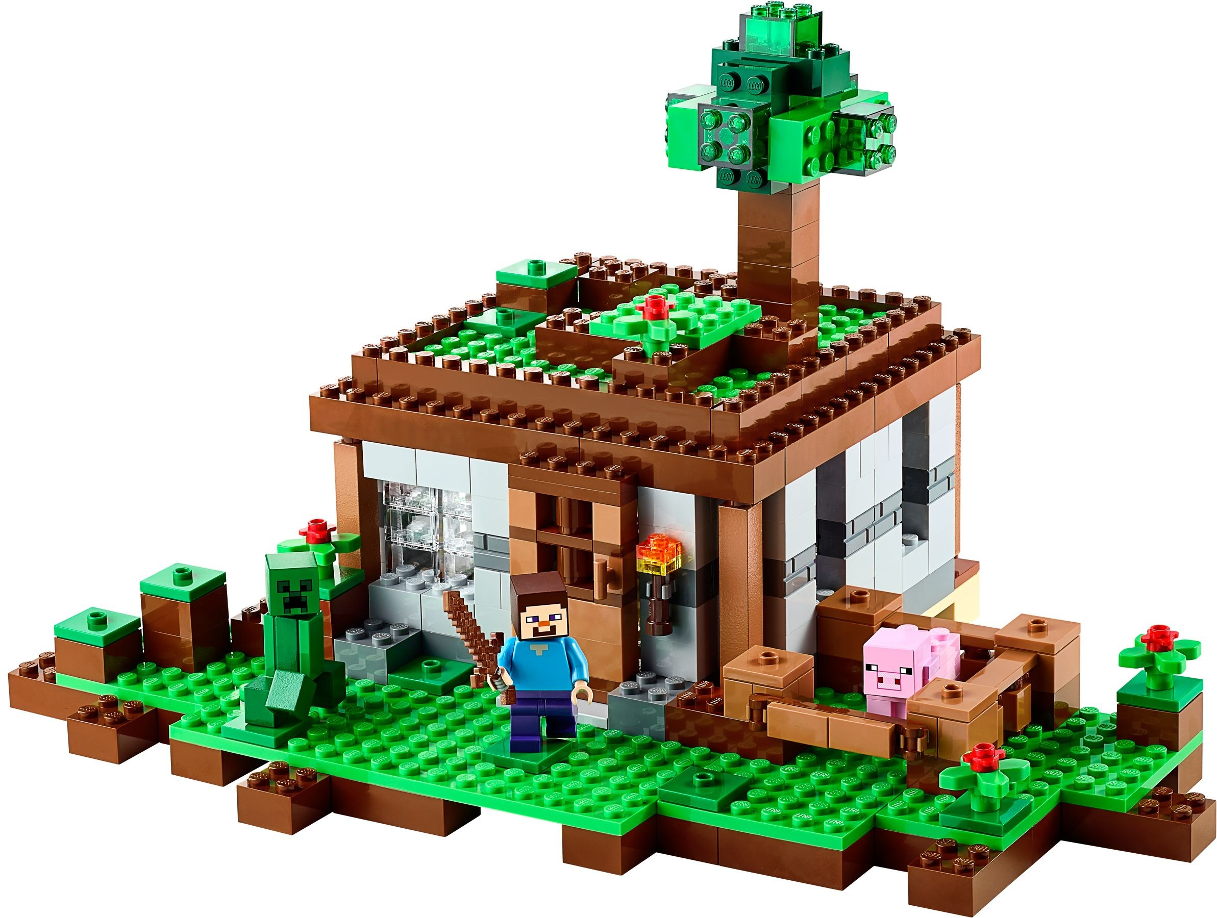 Tagged Crafting Table Brickset Lego Set Guide And Database 21133 Minecraft The Witch Hut First Night