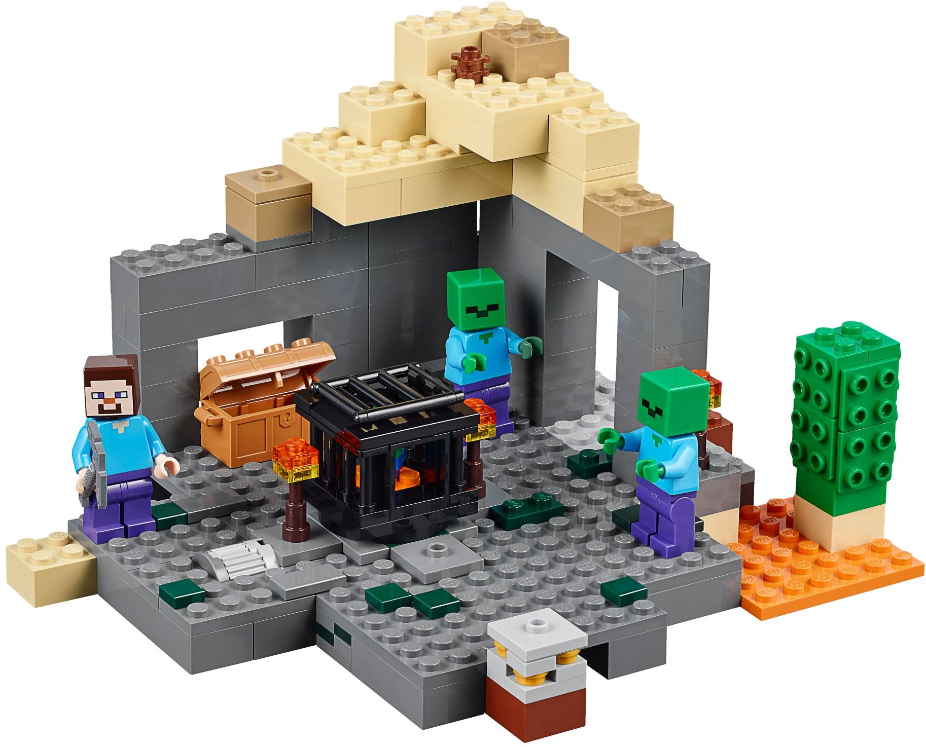 Лего майнкрафт выживание