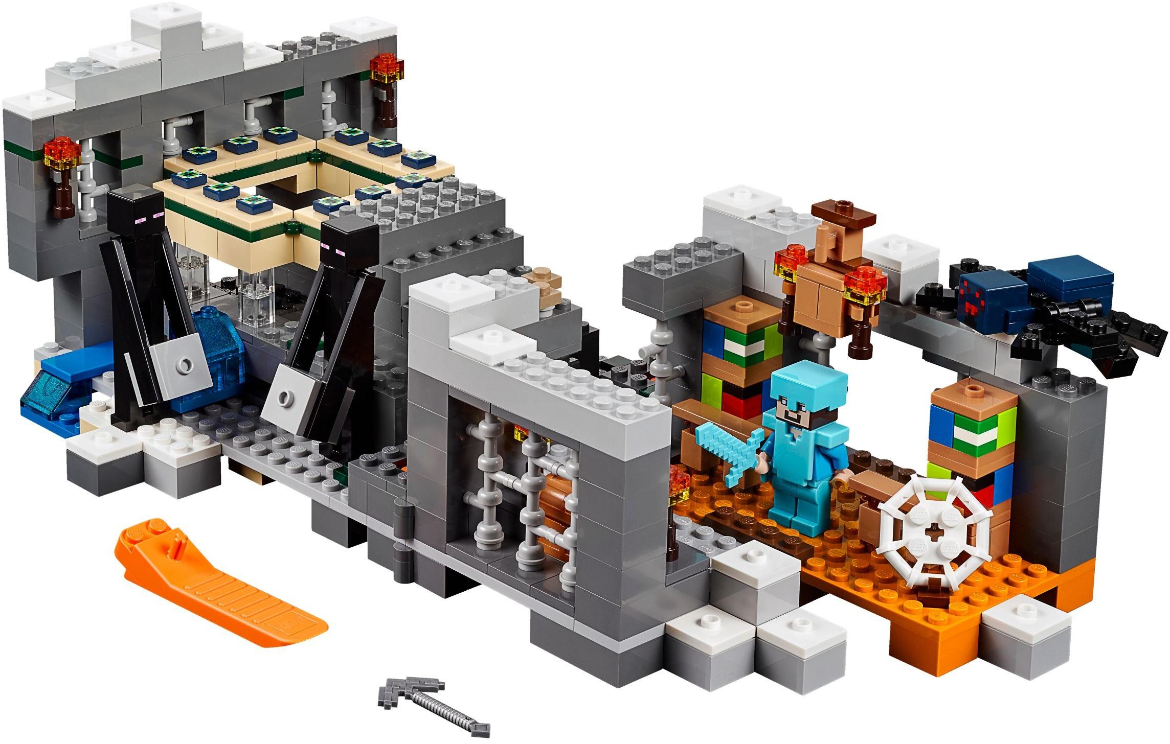 Minecraft  Minifig-scale  Brickset: LEGO set guide and database