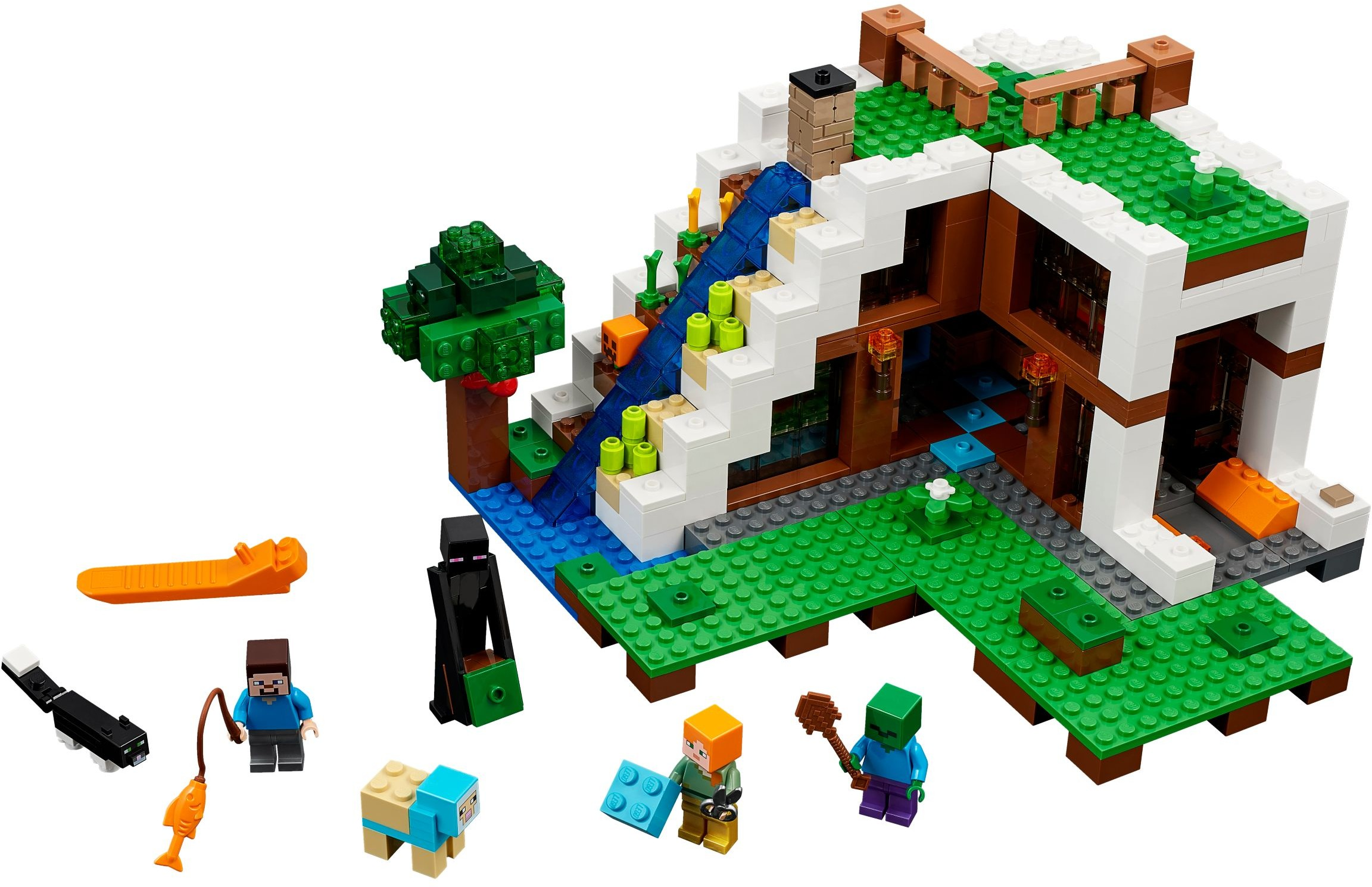 Minecraft Brickset Lego Set Guide And Database