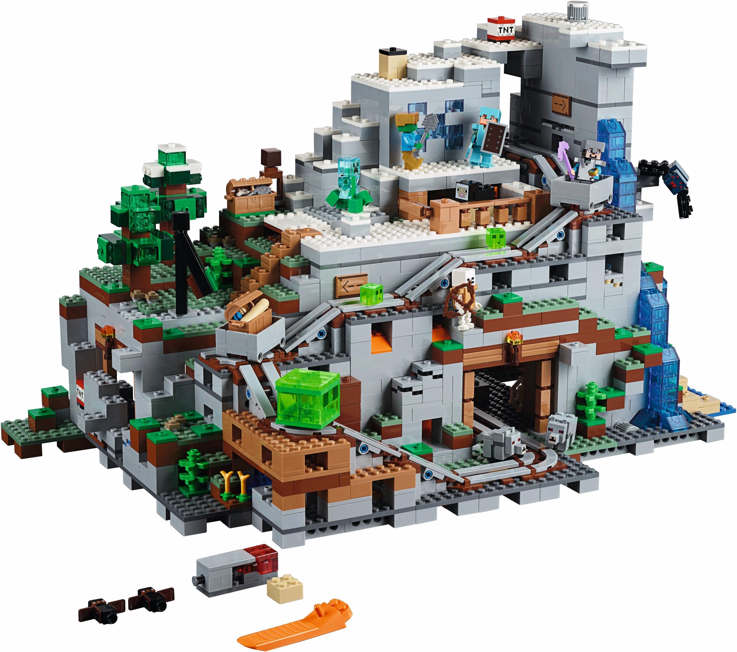 Cascade Auto Group >> Minecraft | 2017 | Brickset: LEGO set guide and database
