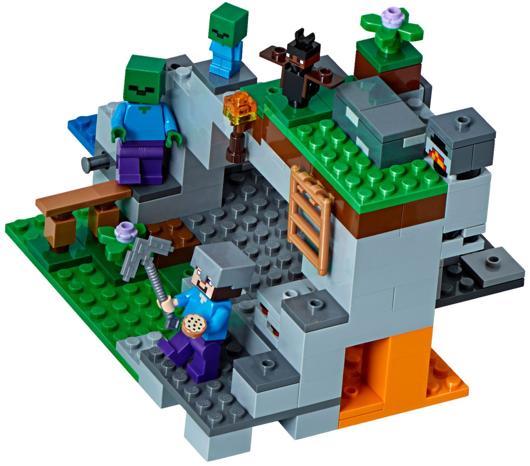 Minecraft 2018 Tagged Cave Brickset Lego Set Guide And Database