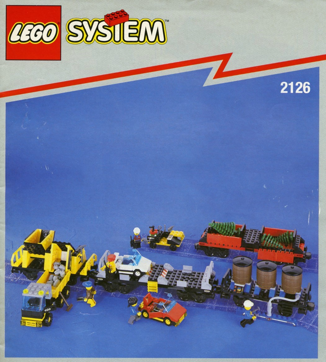 lego blue train instructions