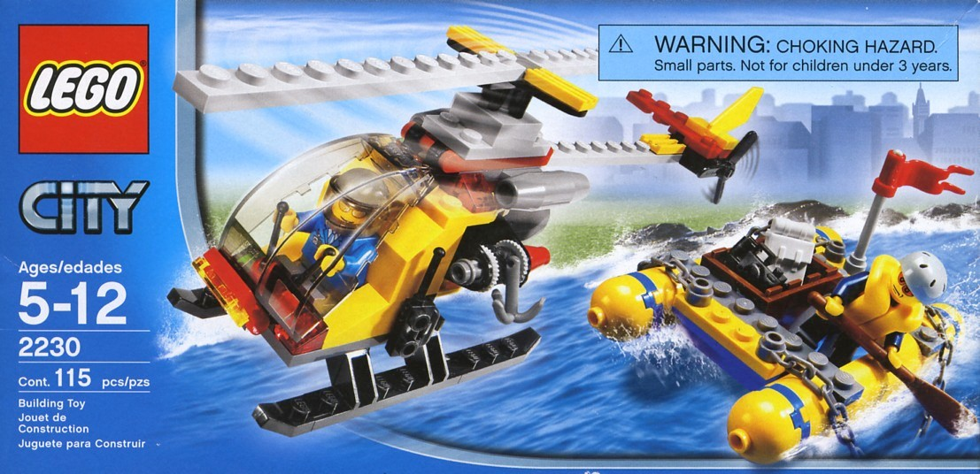 lego city air ambulance rescue plane instructions