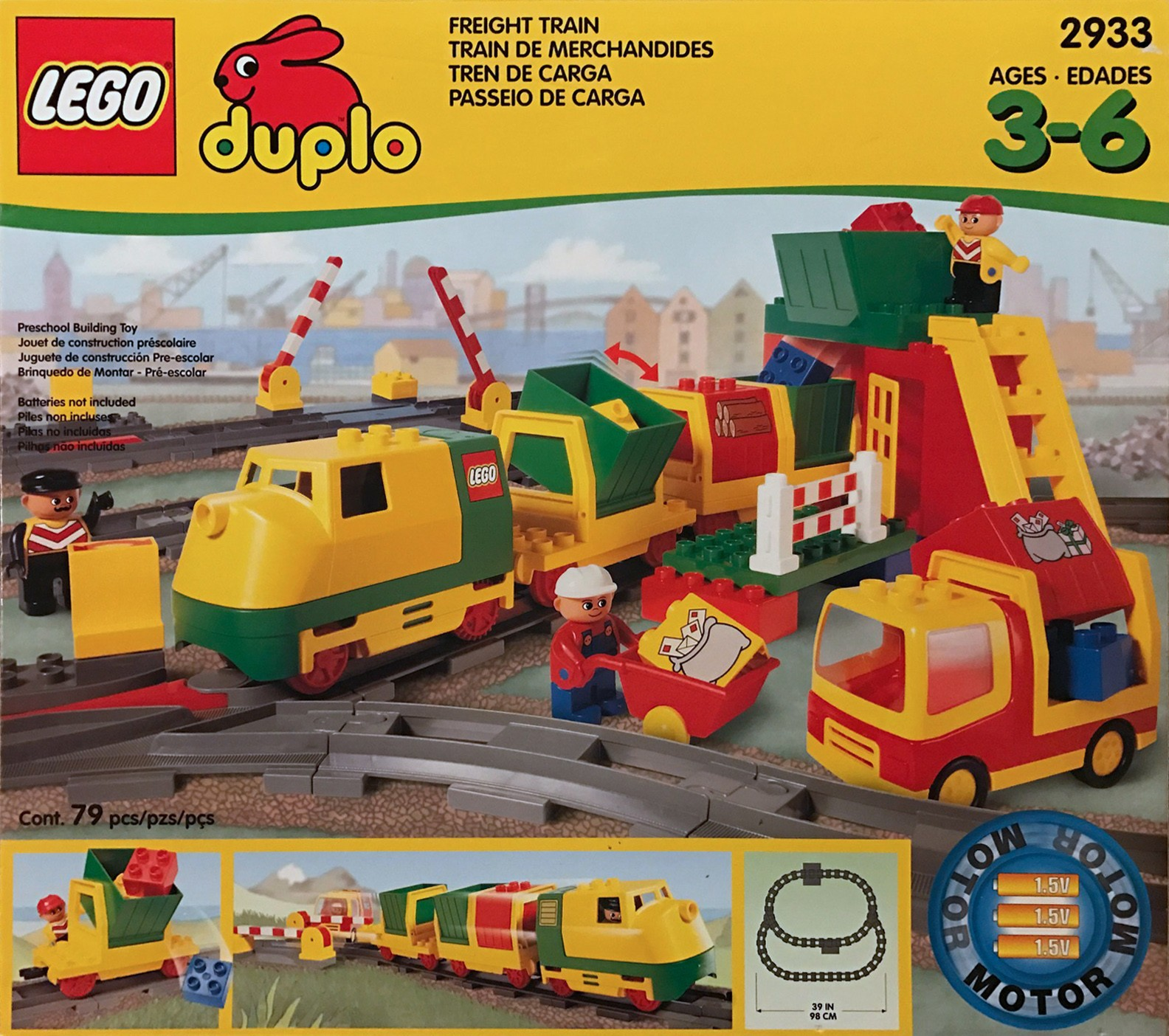 Duplo Tagged Freight Train Brickset Lego Set Guide And Database