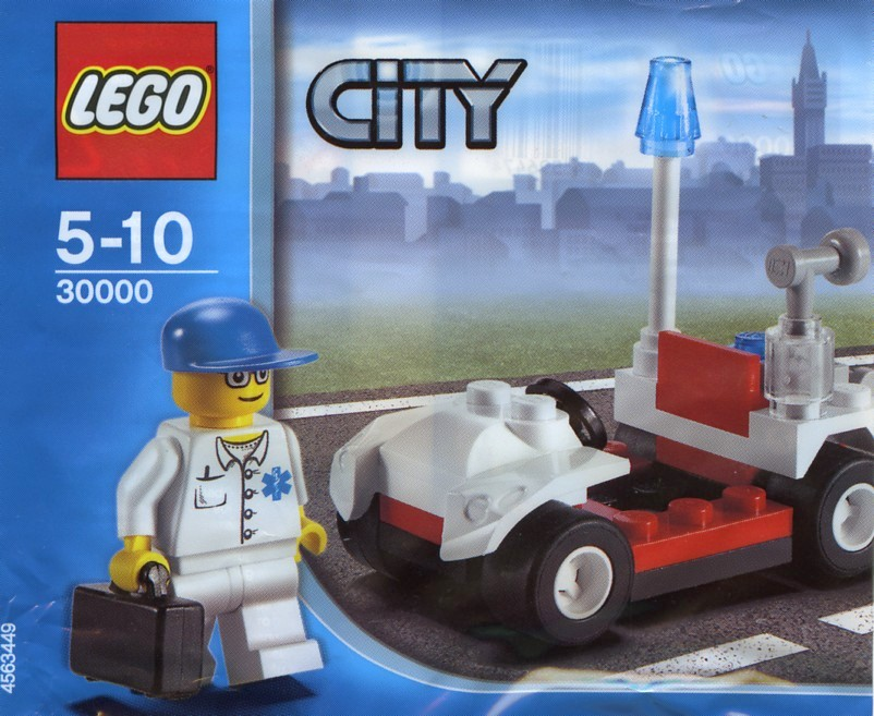 Lego 7266-City-firefighter Legoland Windsor 2005 polybag//promo