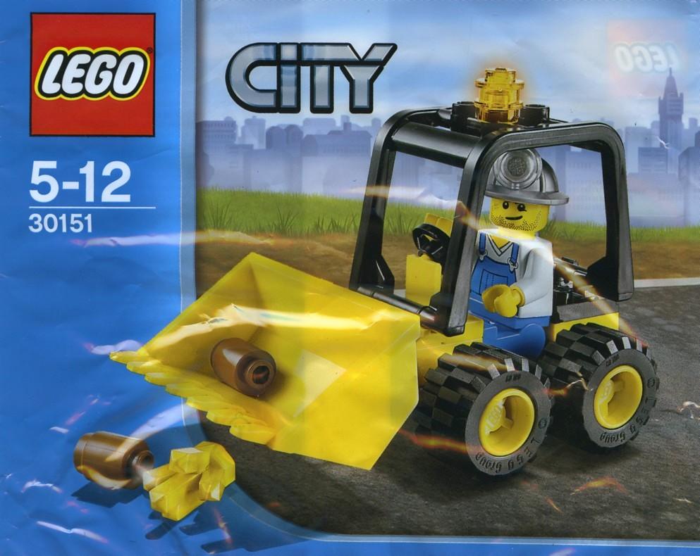 LEGO City Mining Quad 30152