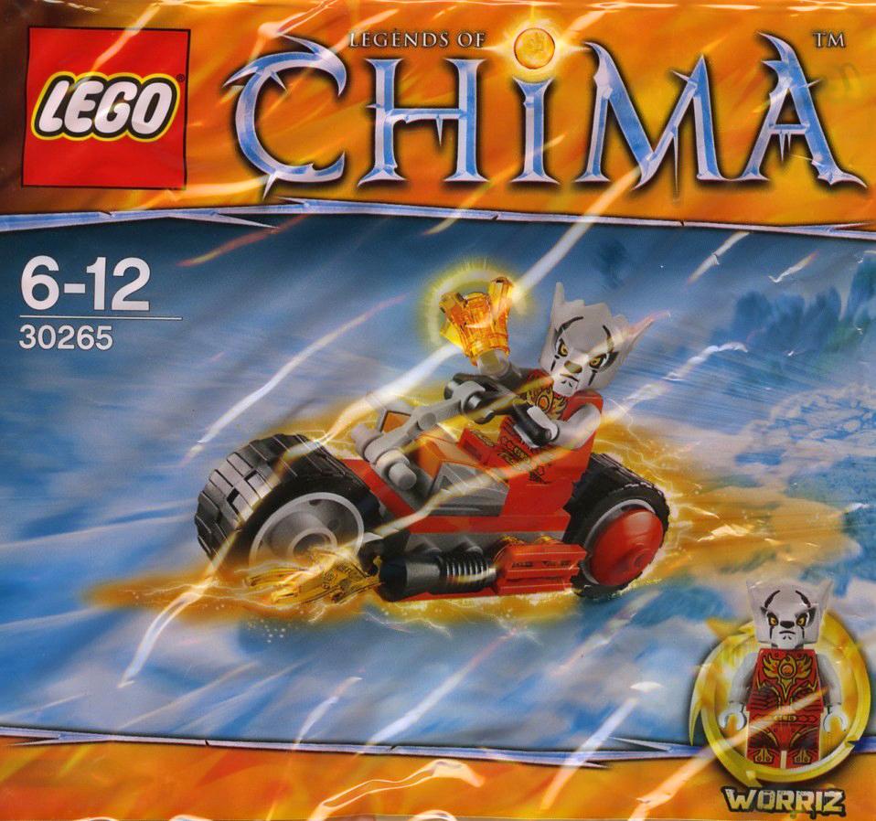 30264 Frax Phoenix Flyer 30265 Worriz Fire Bike 30266 Sykor/'s Ice Lego Chima set
