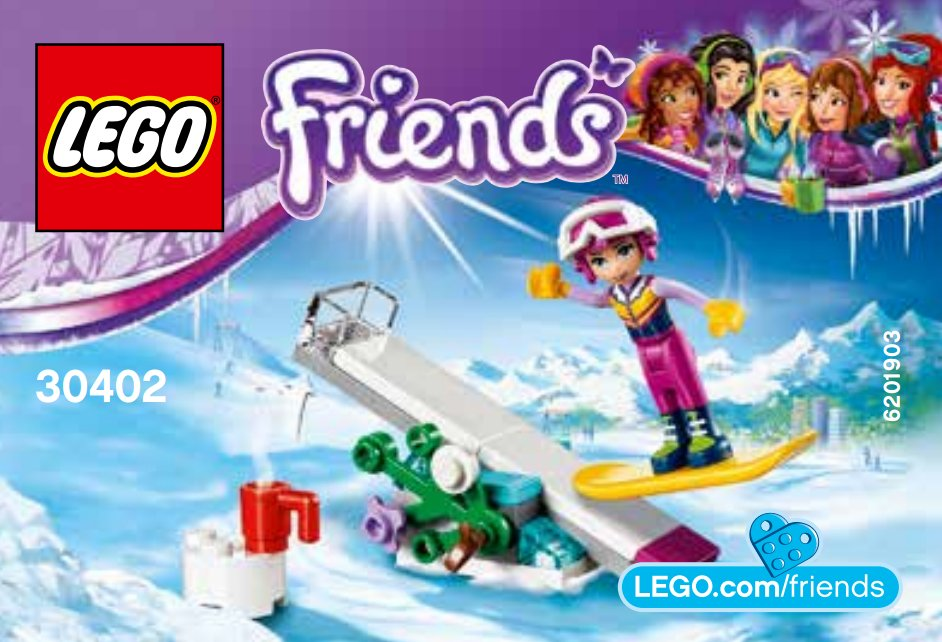 Friends Snow Resort Brickset Lego Set Guide And Database