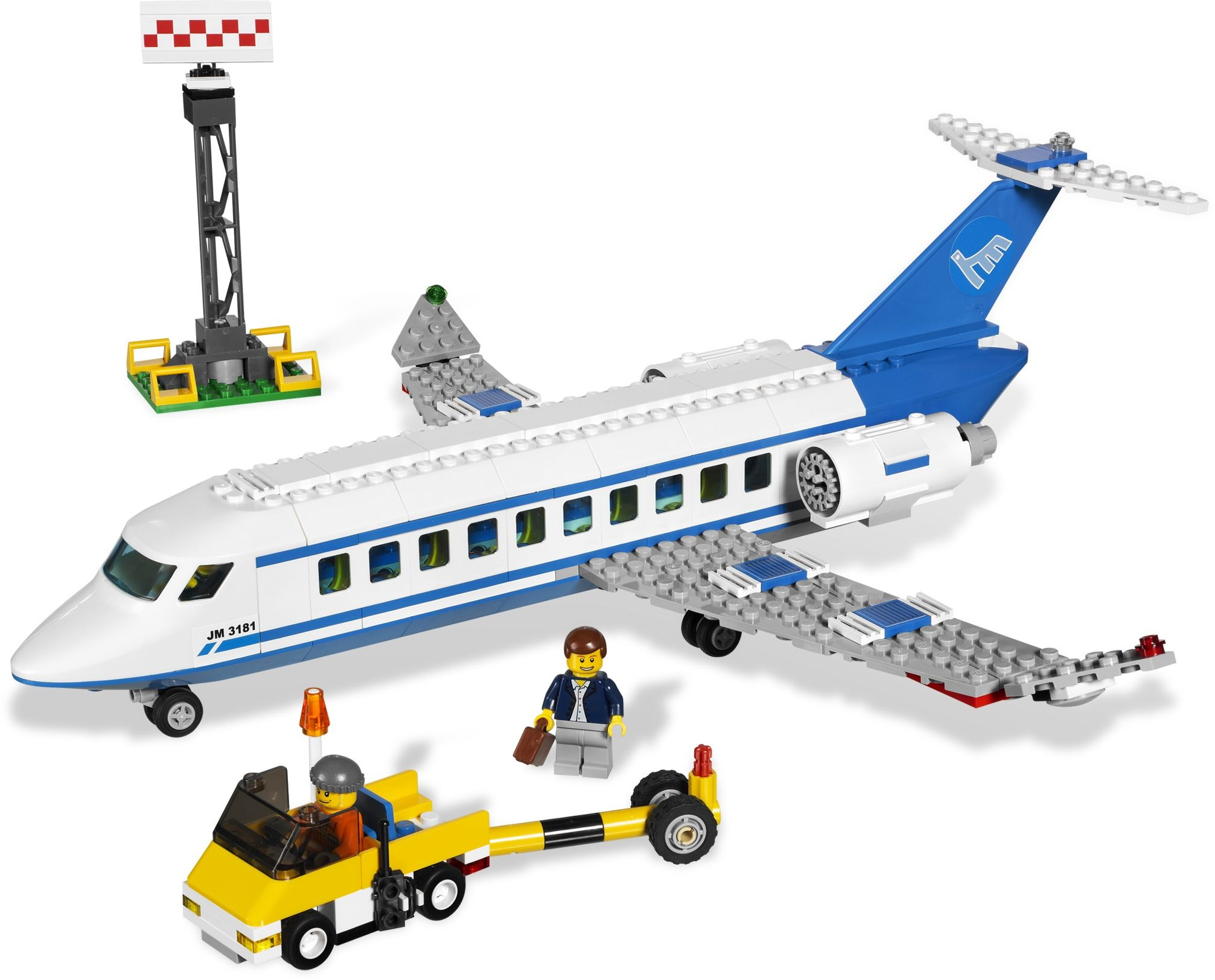 passenger plane - Lego City Airplane Coloring Pages