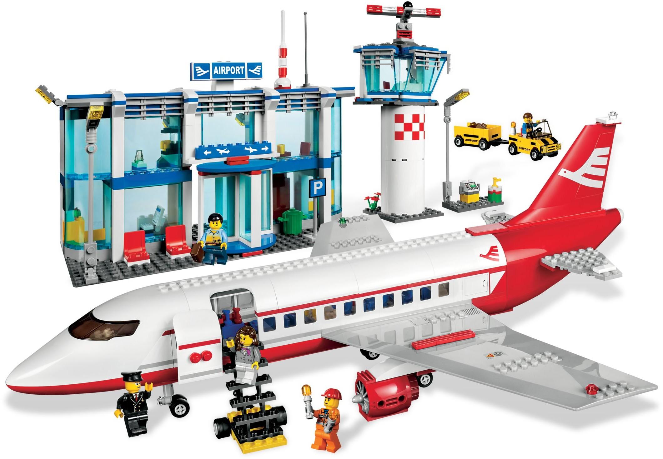 Aeroporto Lego : City airport brickset lego set guide and database