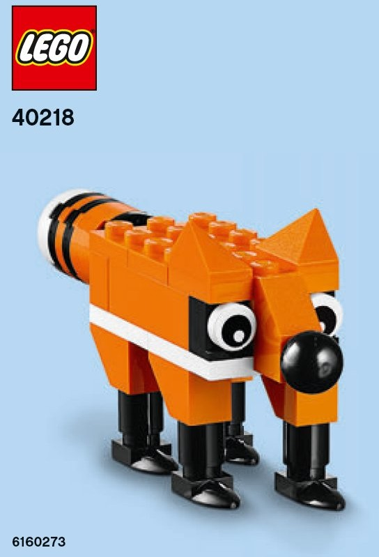 LEGO 40217 Promotional WEREWOLF Were Wolf Monthly Mini Model Build Polybag