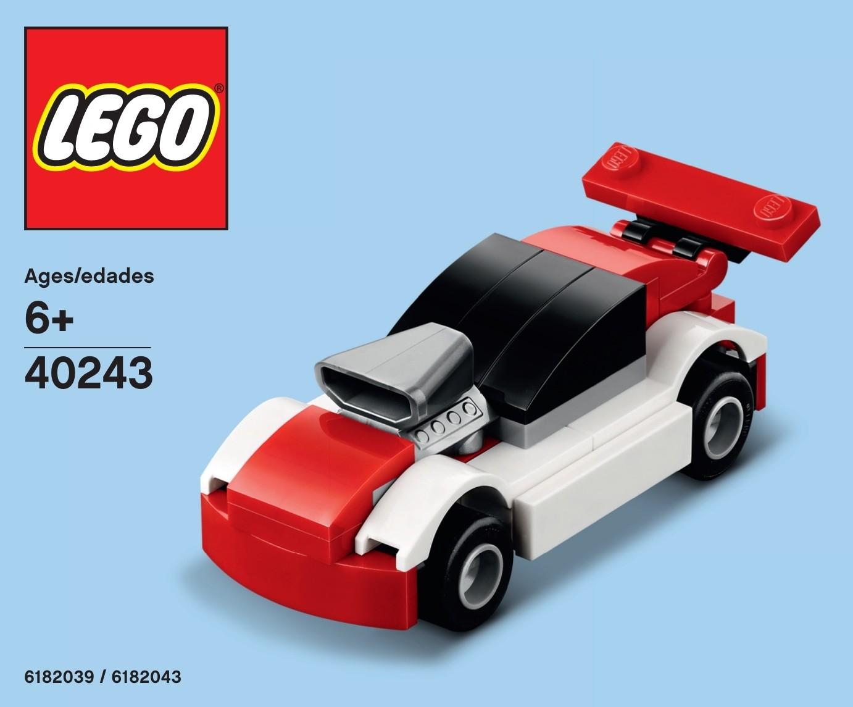 LEGO Creator Steam Train Mini Model Build Polybag Set 40250