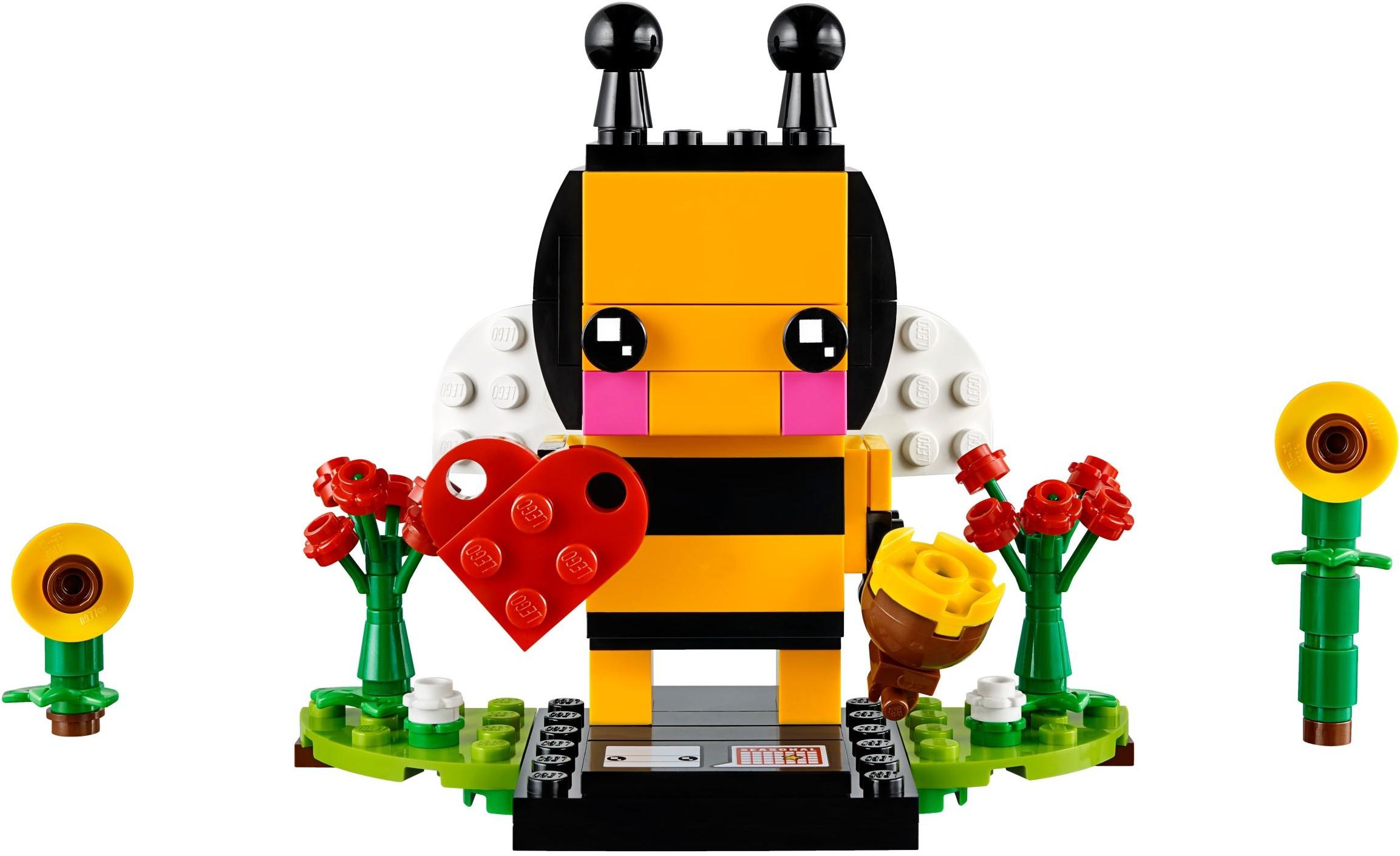 LEGO Brickheadz Valentine's Bee (40270) - $9.99