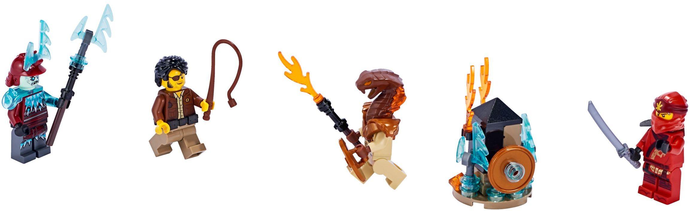 LEGO Ninjago Blizzard Archer Minifigure 70678 Secrets of Forbidden Spinjitzu