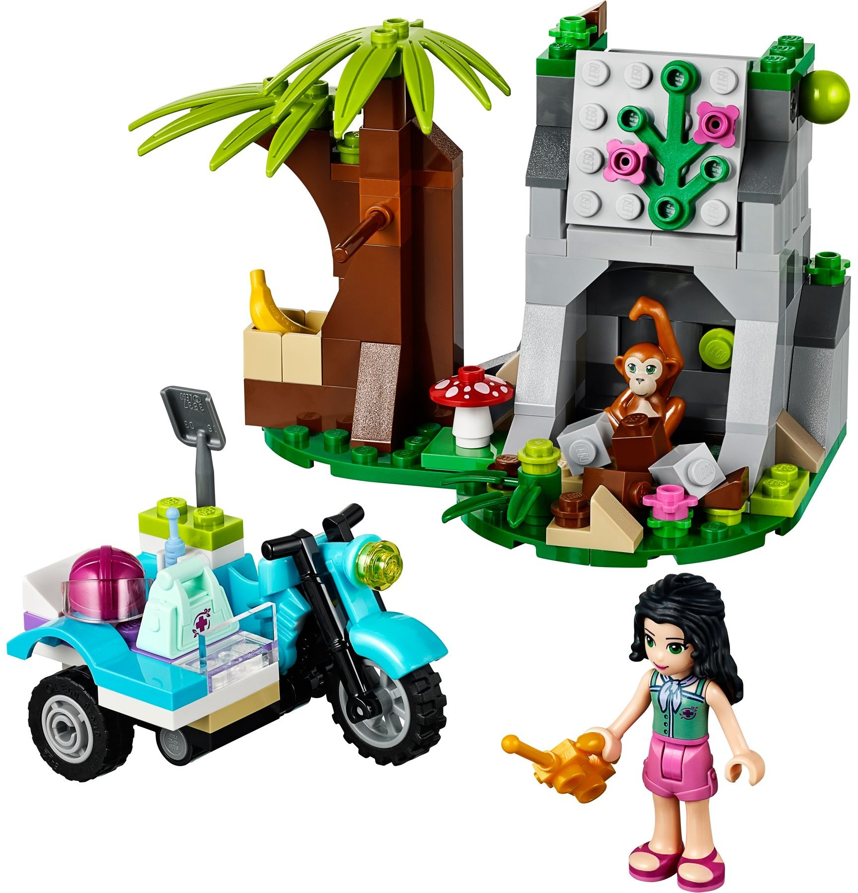 Friends Jungle Rescue Brickset Lego Set Guide And Database