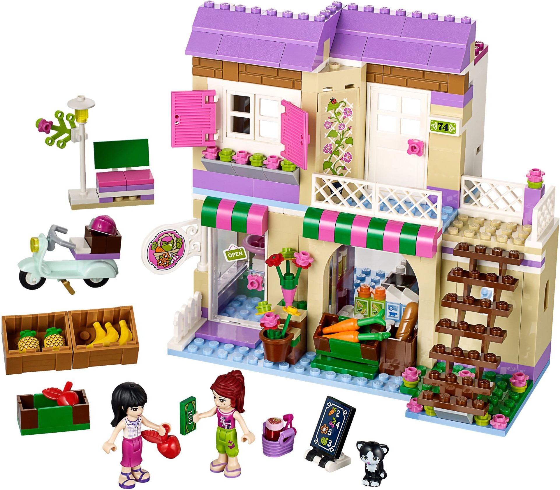 Friends Tagged Cat Brickset Lego Set Guide And Database