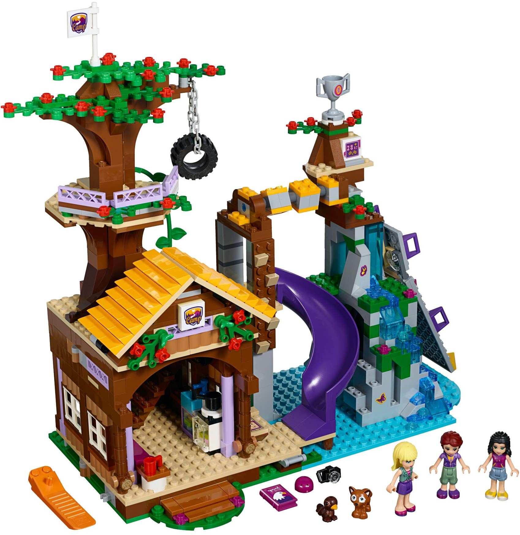 Friends Adventure Camp Brickset Lego Set Guide And Database