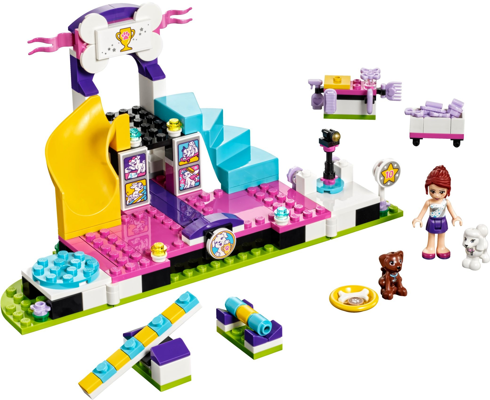 Friends 2017 Tagged Dog Brickset Lego Set Guide And Database