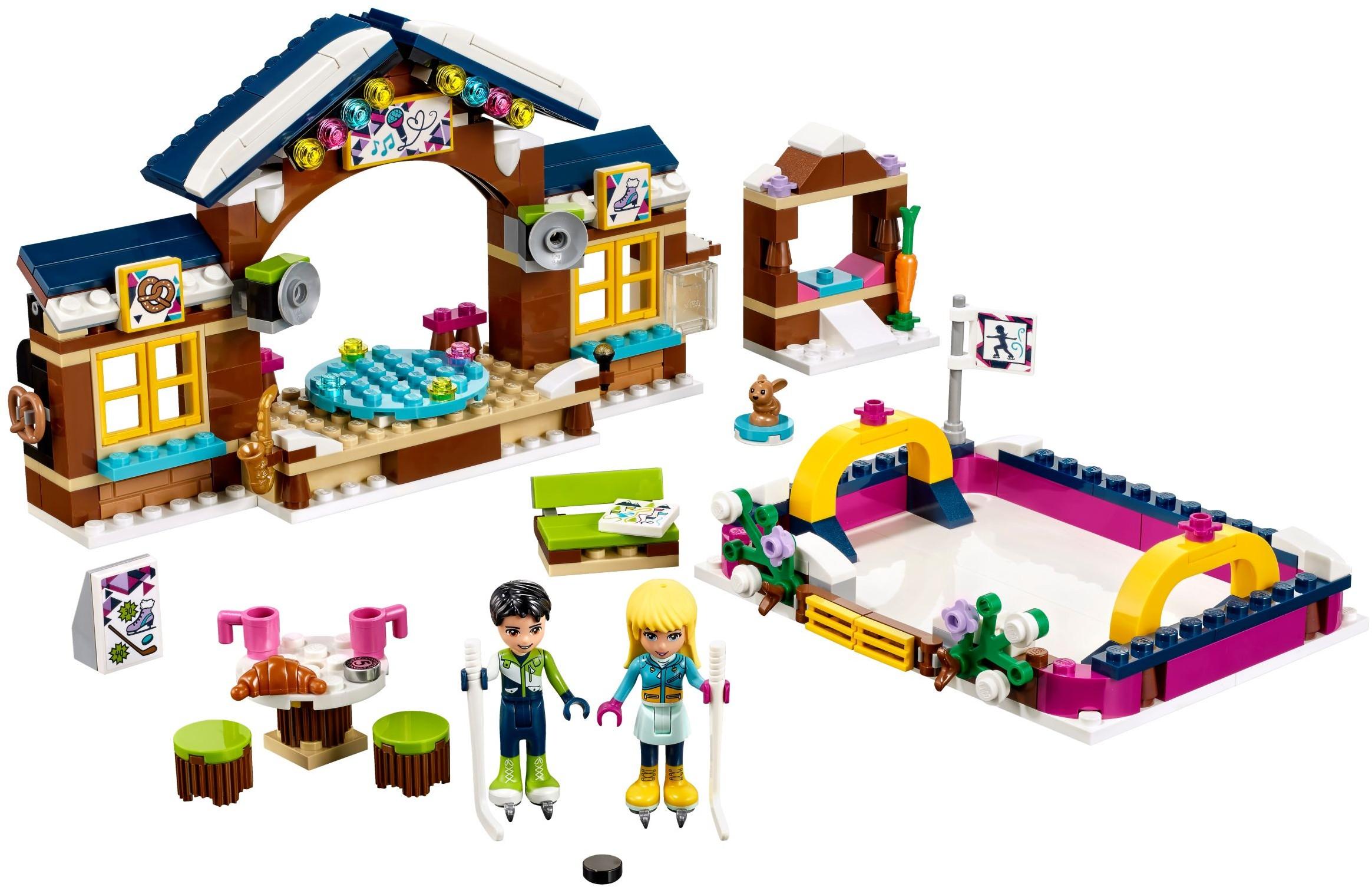 friends | snow resort | brickset: lego set guide and database