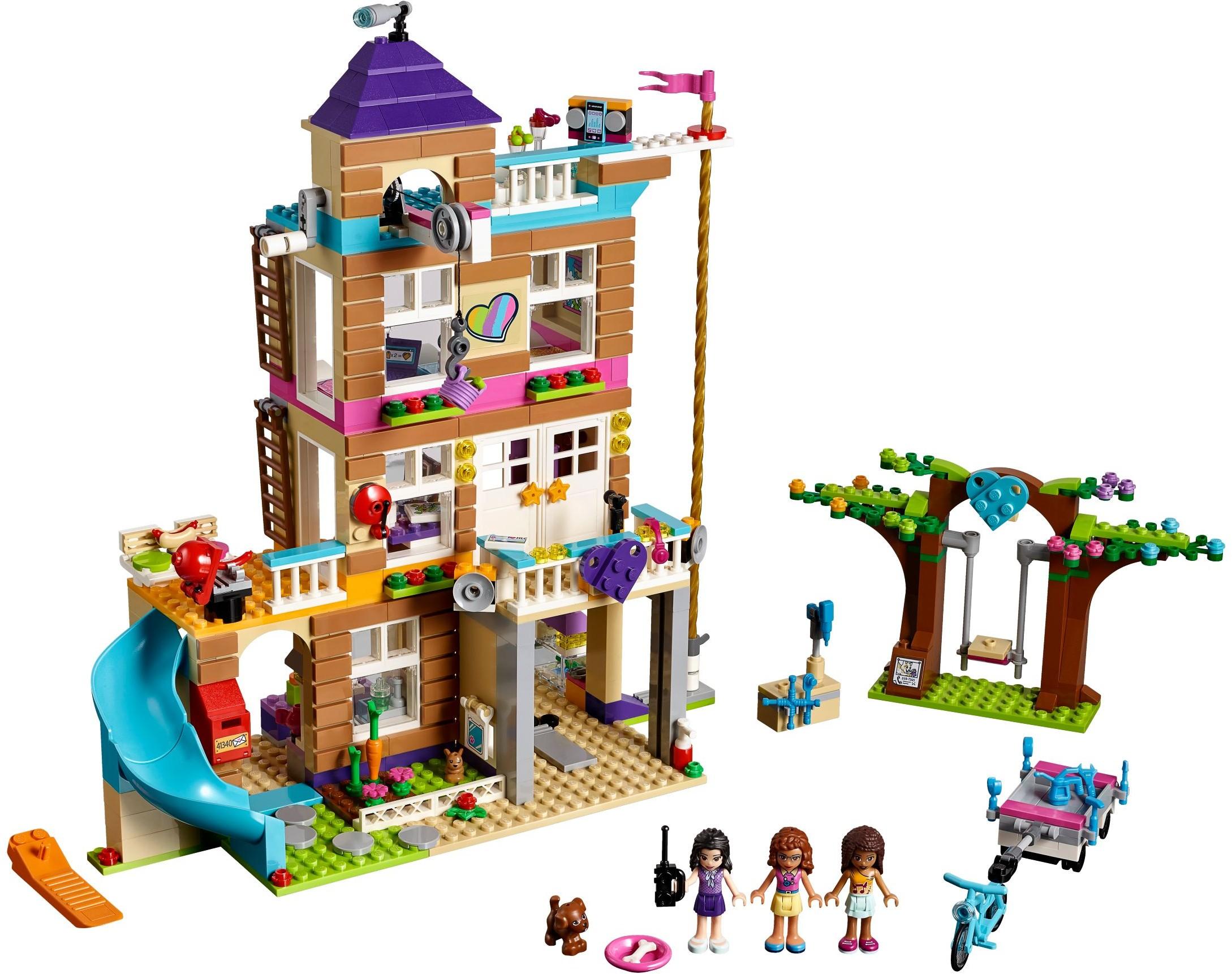 Friends 2018 brickset lego set guide and database - Lego friends casa de livi ...
