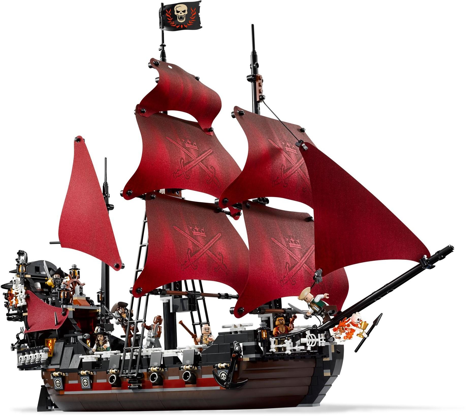 NEW Lego Pirate Ship 2x2 Printed Dark Tan TILE Painting Sail Boat Ship Moon 4193