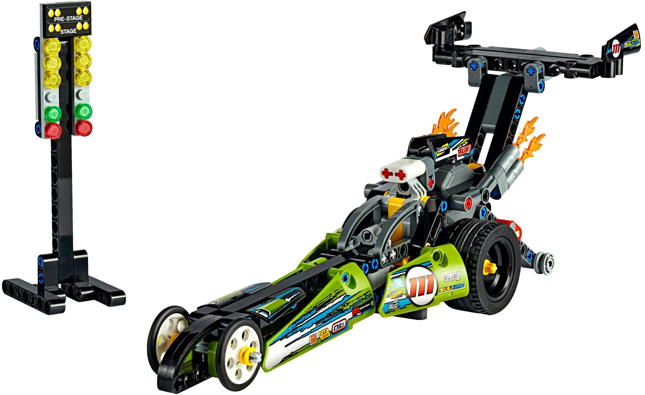 LEGO 42102 Technic Mini Claas Xerion Tractor