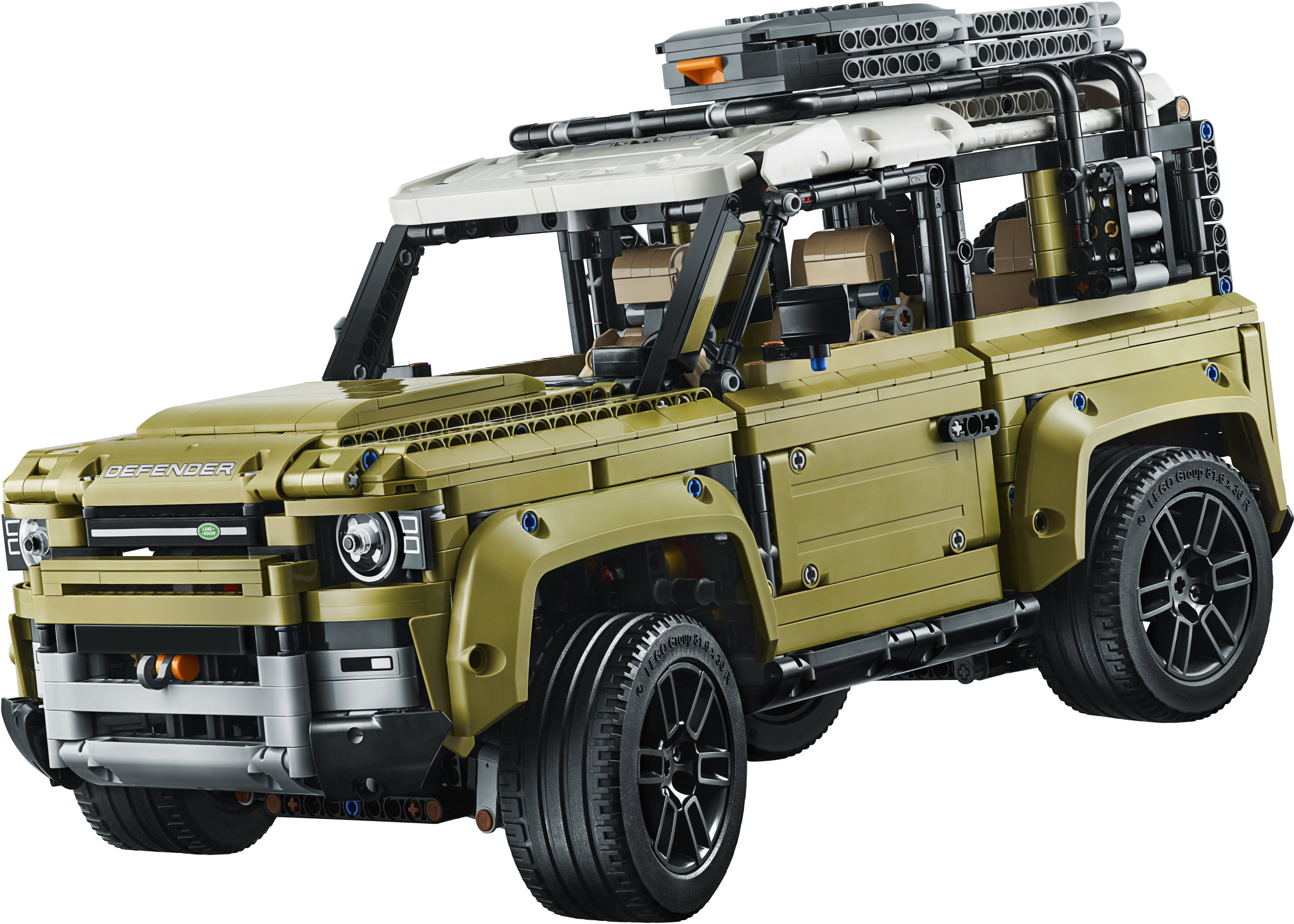 lego technic land rover defender instructions
