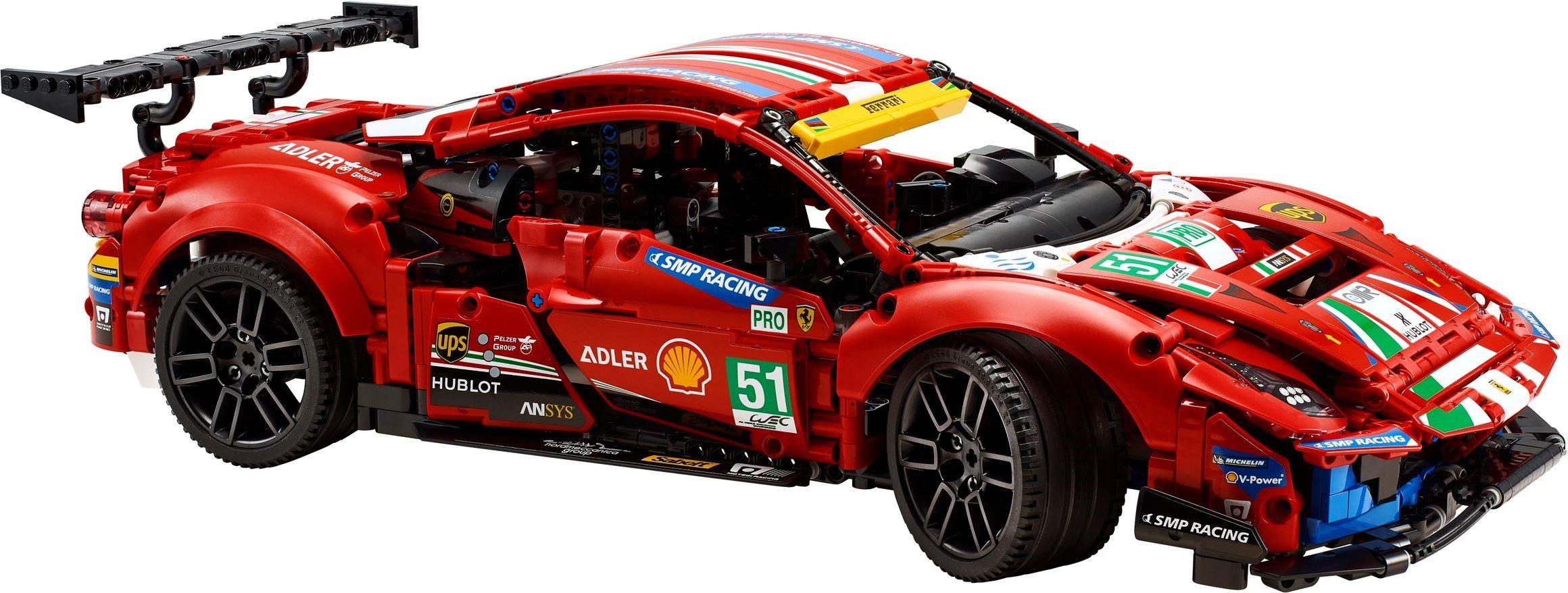 Technic Ferrari 488 Gte Revealed Brickset Lego Set Guide And Database