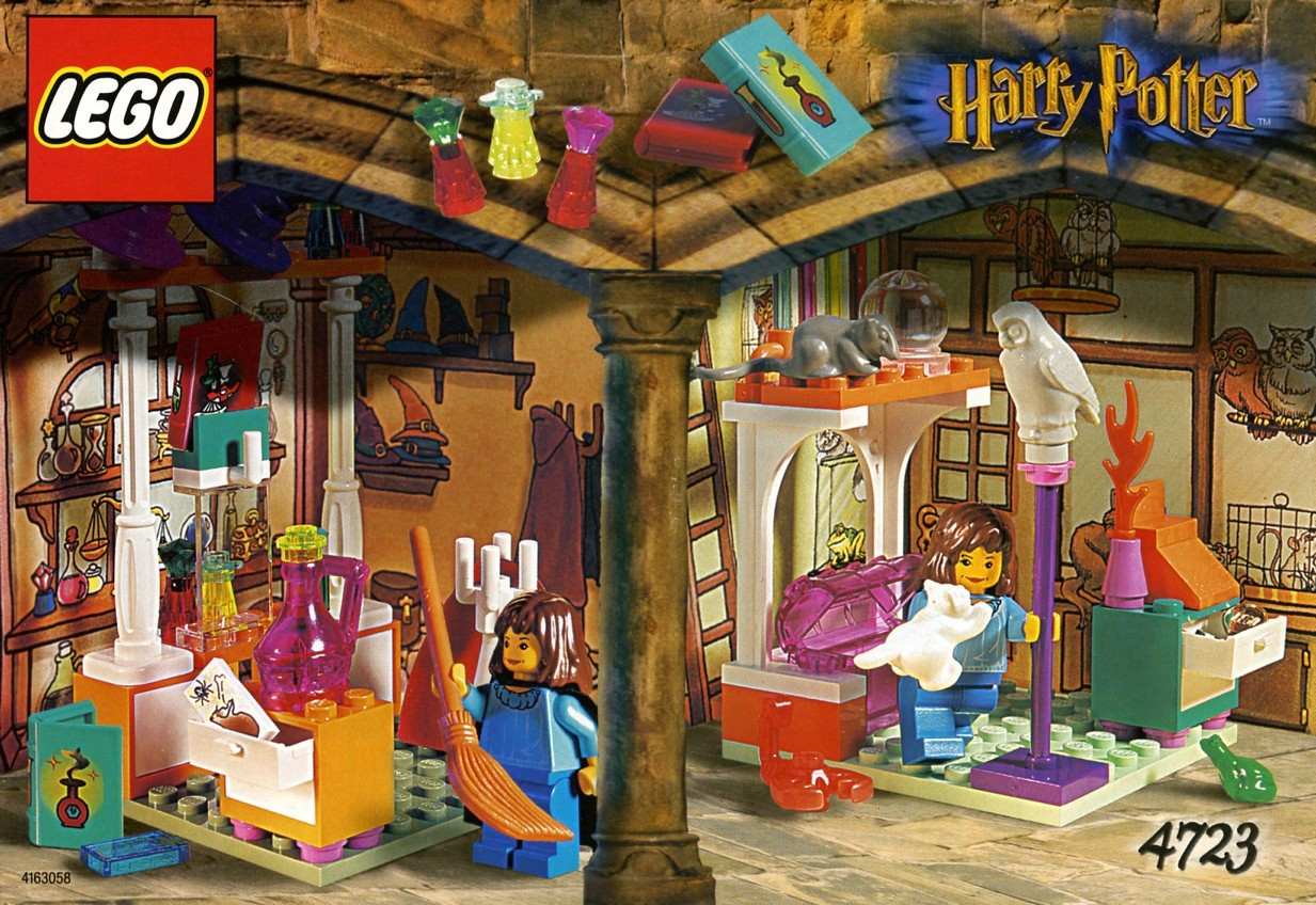 Harry Potter Building Magical World Lego