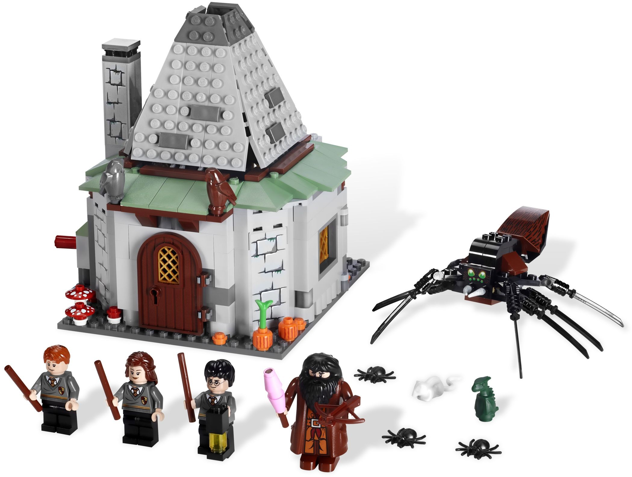 LEGO Harry Potter Professor Filius Flitwick w// Wand Minifigure 4842 Hogwarts